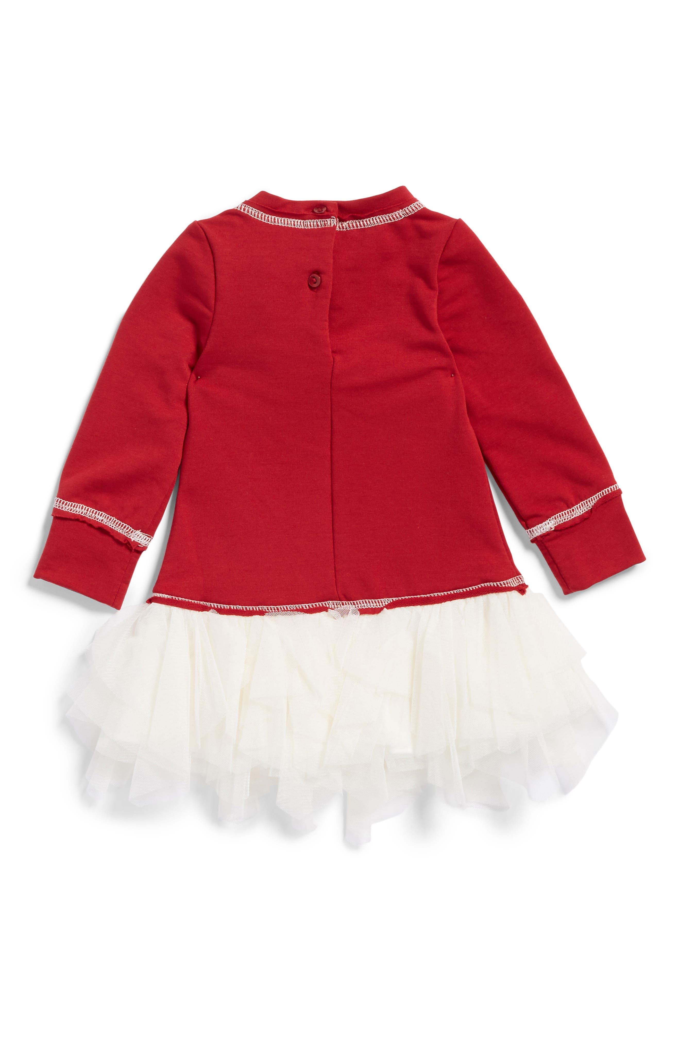 Alternate Image 2  - Kate Mack Knit Bodice Tutu Dress (Baby Girls)
