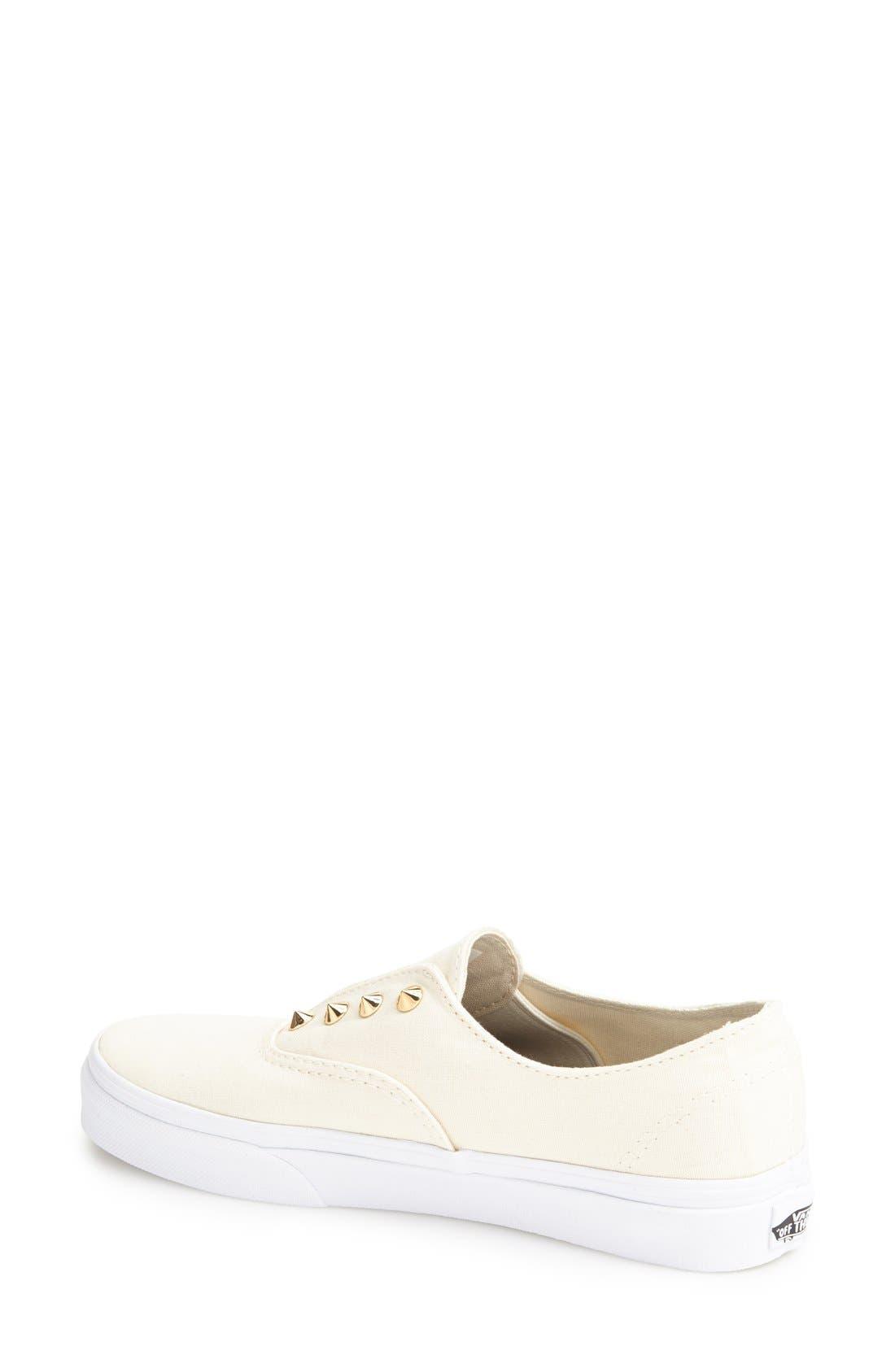 Alternate Image 2  - Vans 'Authentic Gore - Studs' Slip-On Sneaker (Women)