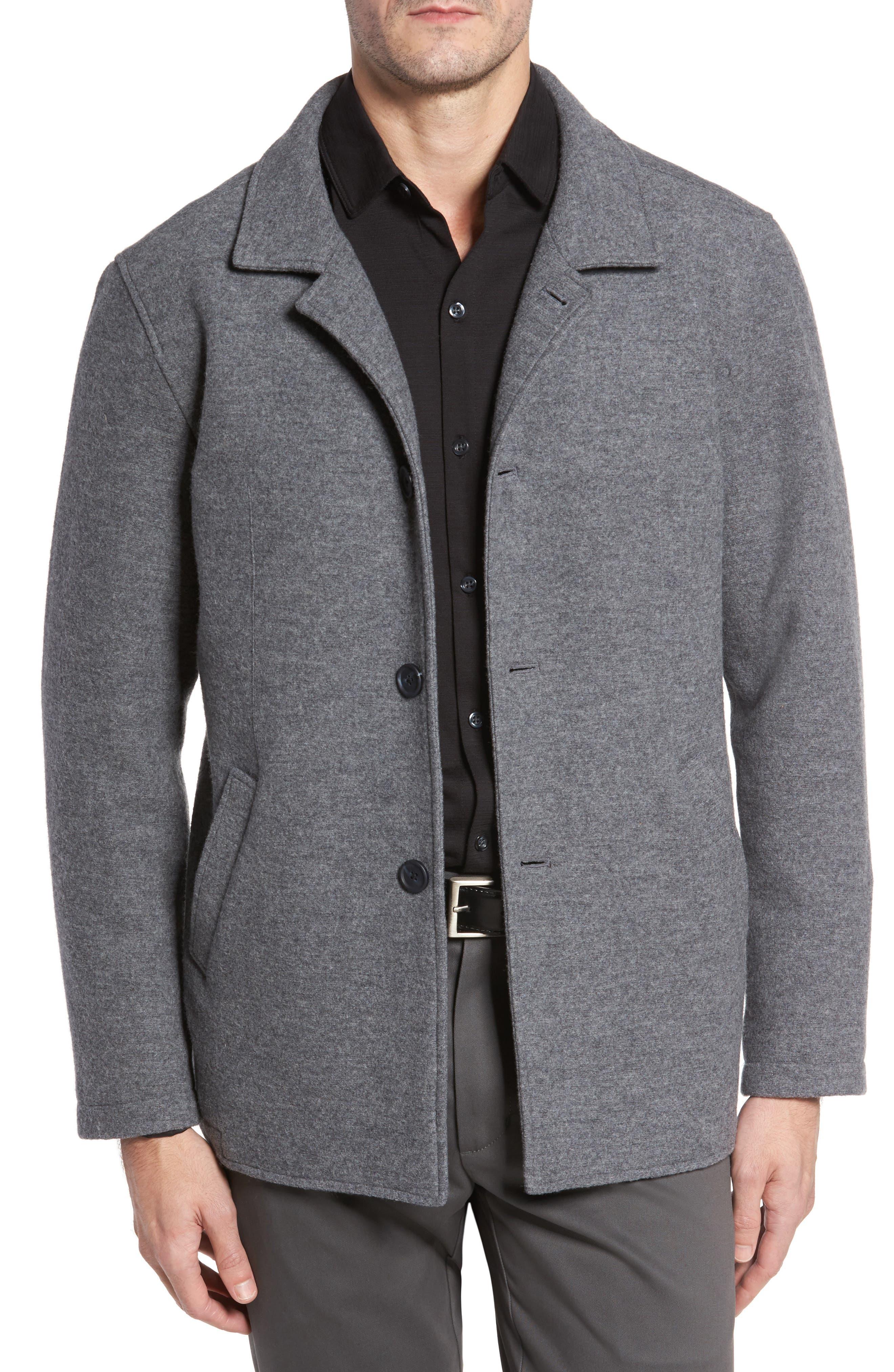 Robert Barakett Clifton Wool Blend Knit Jacket