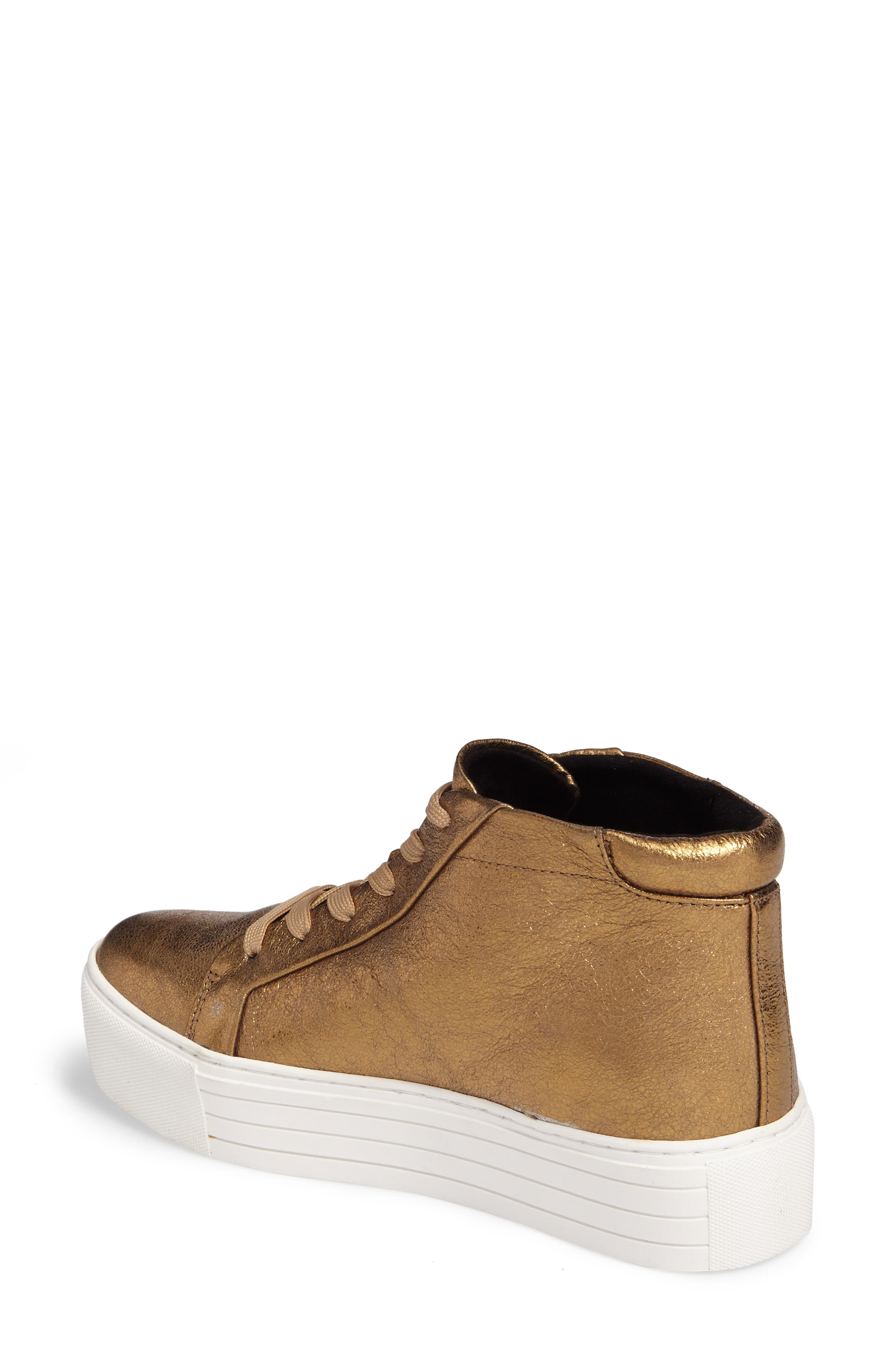 Alternate Image 2  - Kenneth Cole New York Janette High Top Platform Sneaker (Women)