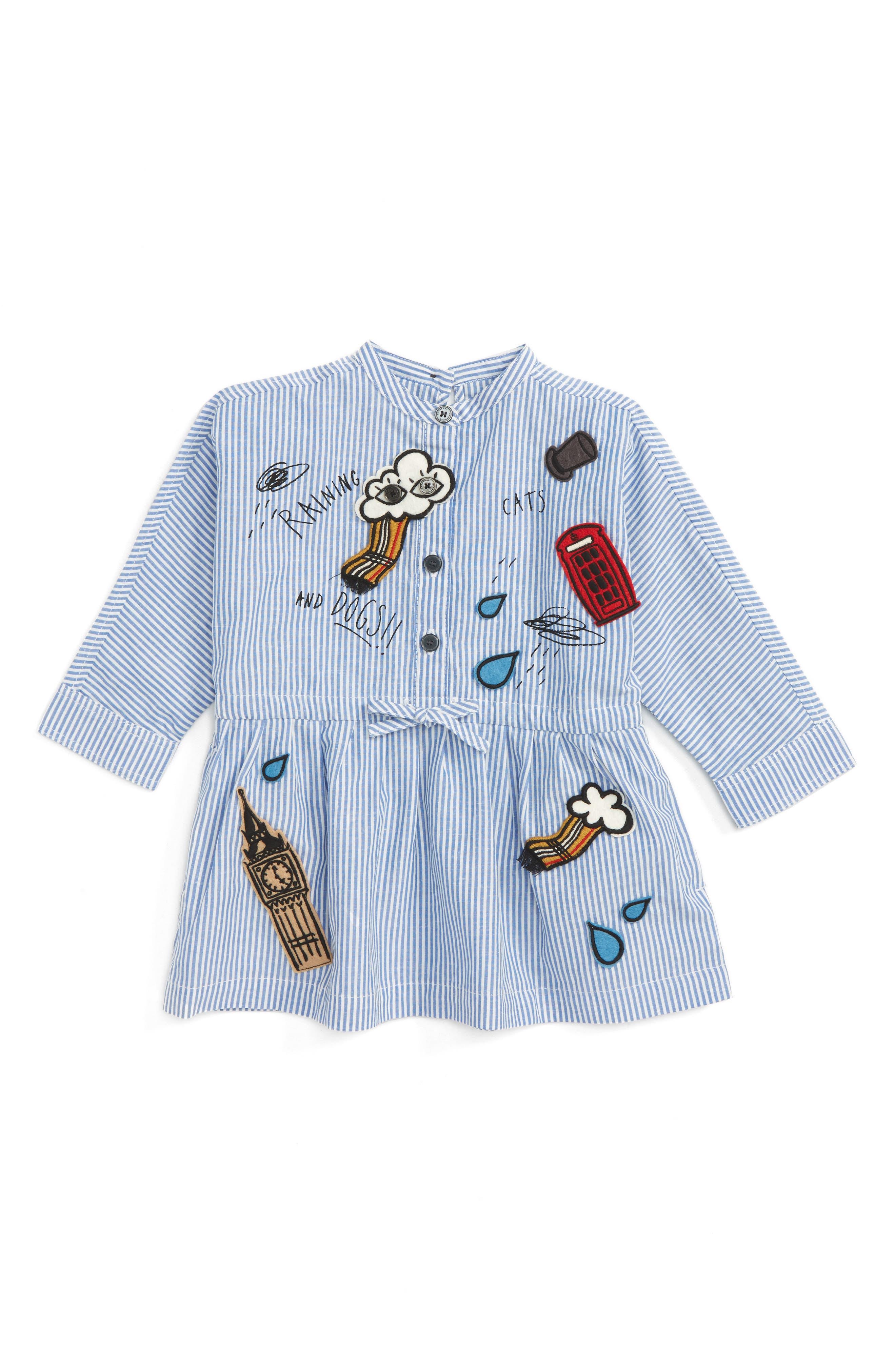Burberry Mini Cristy Patch Dress (Baby Girls)