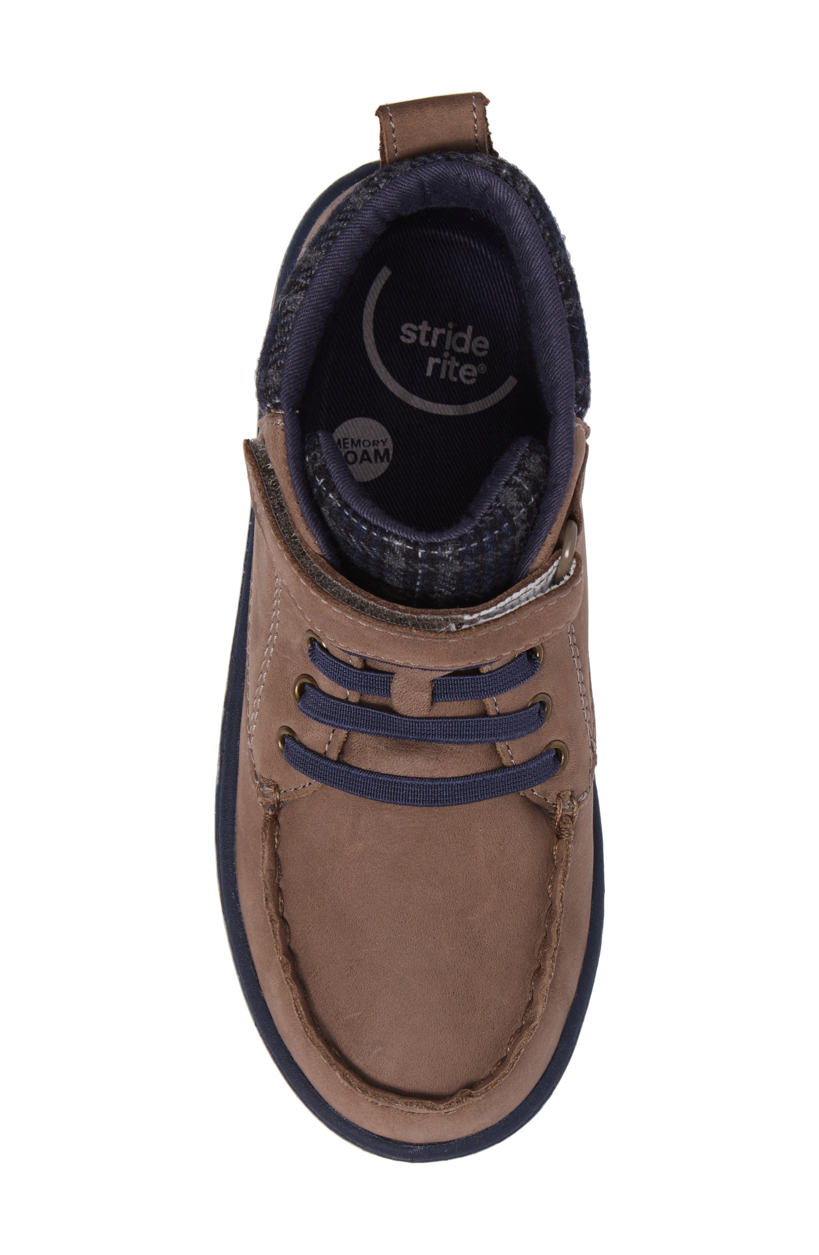 SRtech<sup>™</sup> Langston Bootie,                             Alternate thumbnail 5, color,                             Greige Leather