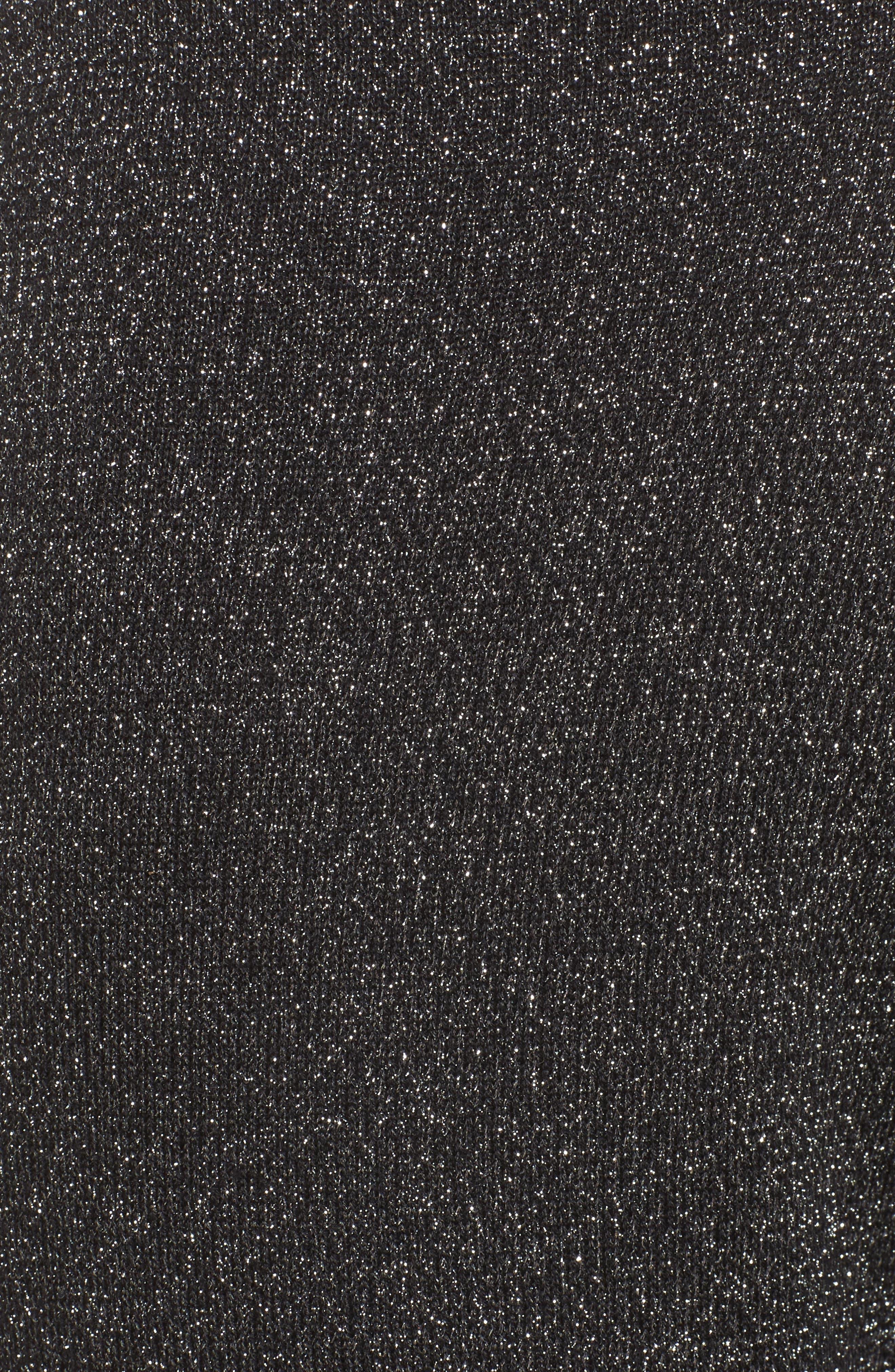 Alternate Image 6  - Leith Metallic Crop Pants