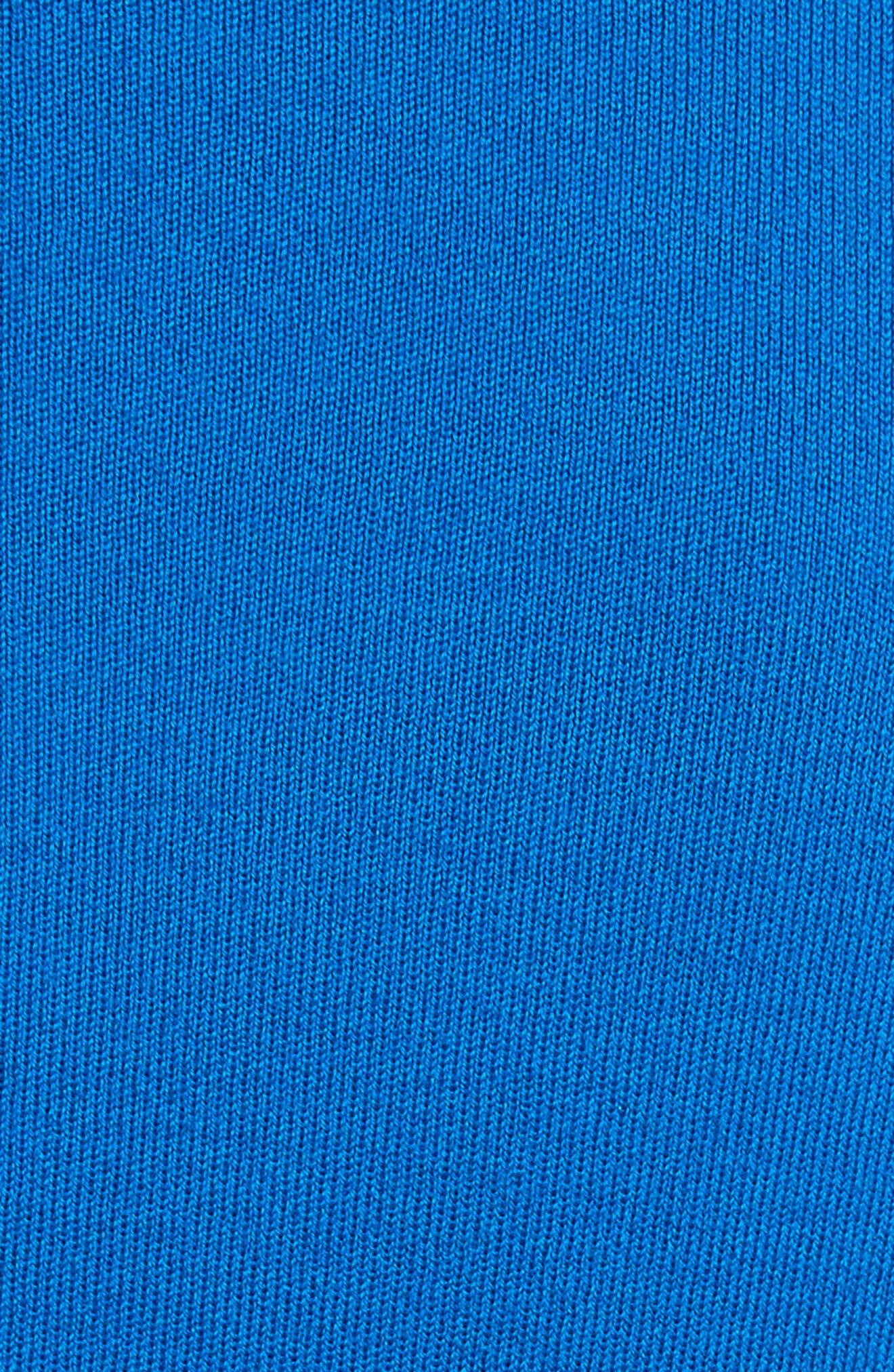 Merino Wool Shrug,                             Alternate thumbnail 5, color,                             Mediterranean