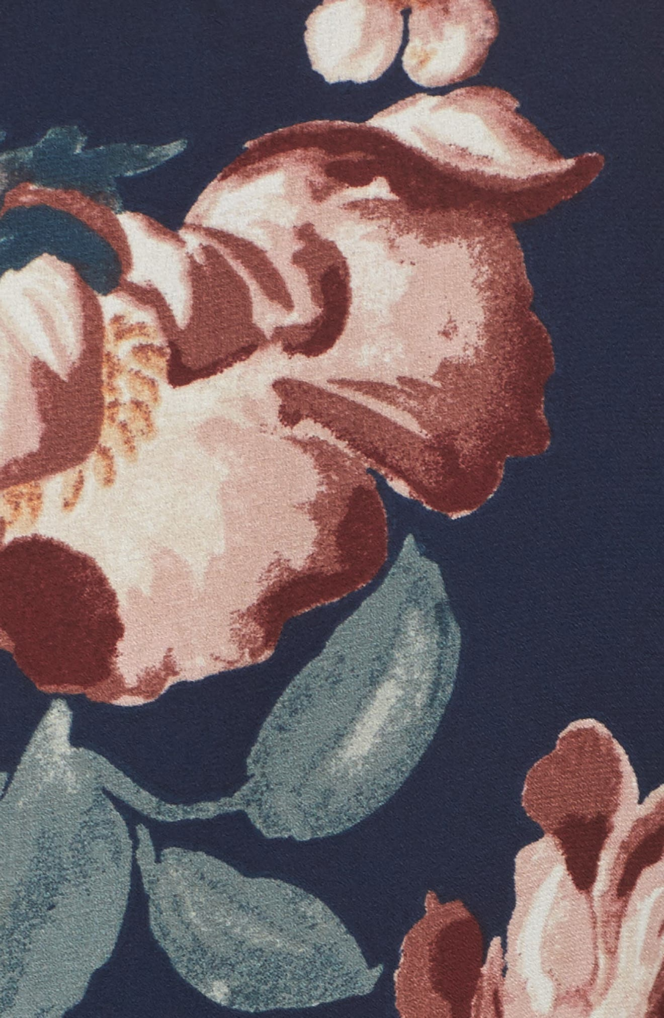 Alternate Image 5  - Charles Henry Flutter Sleeve Shift Dress (Regular & Petite)