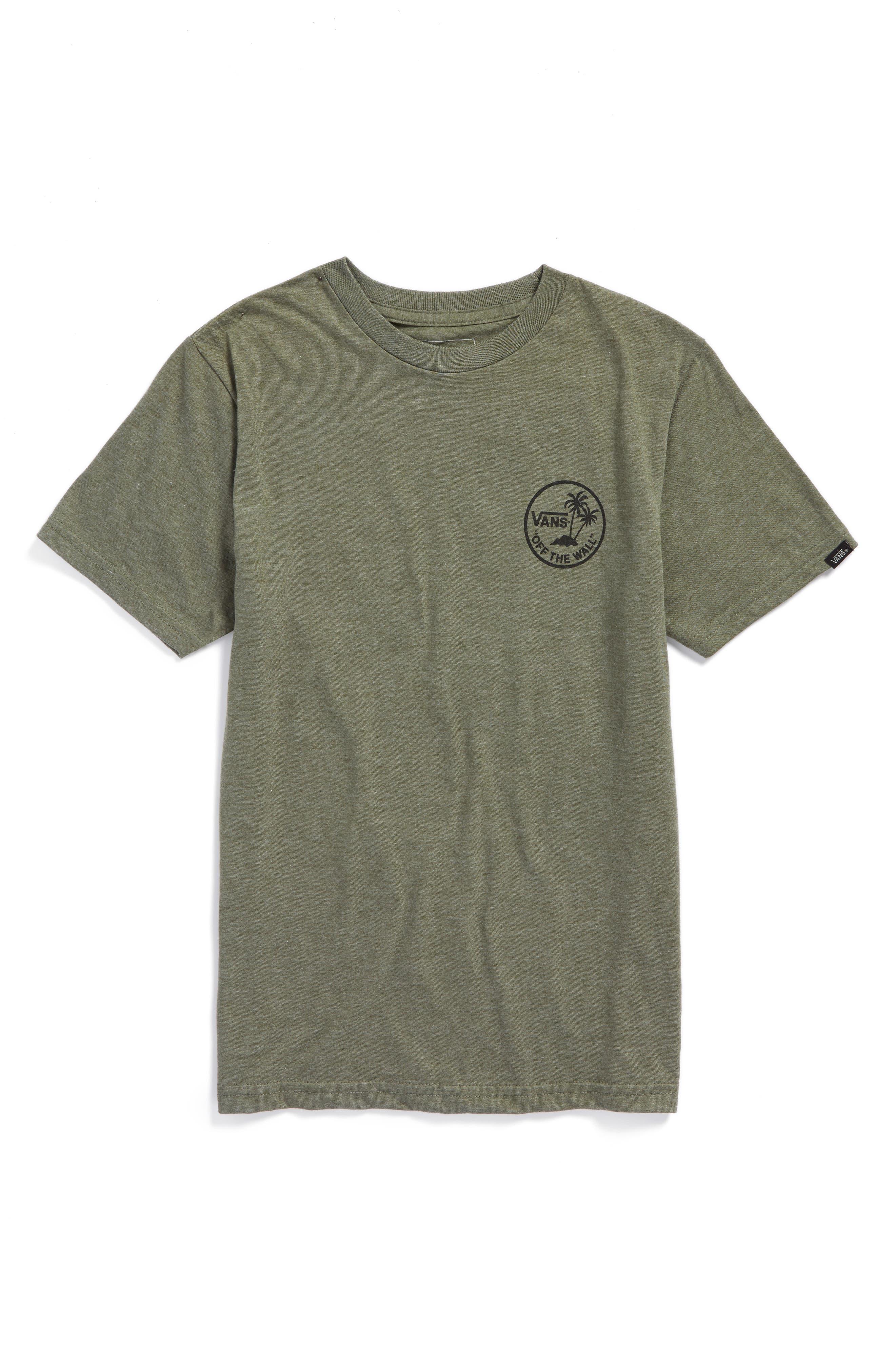 Vans Dual Palm Graphic T-Shirt (Big Boys)