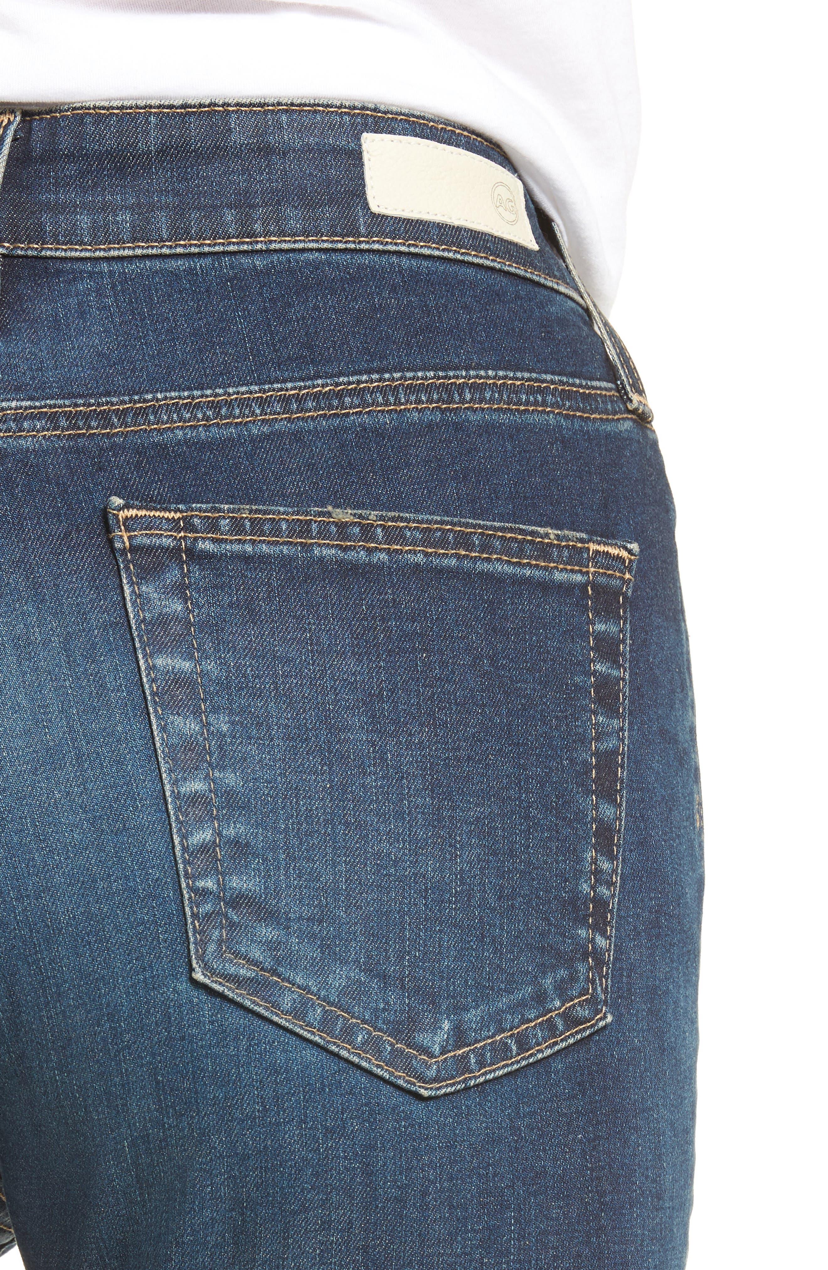Alternate Image 4  - AG Mila High Rise Skinny Jeans (06 Years Songbird)
