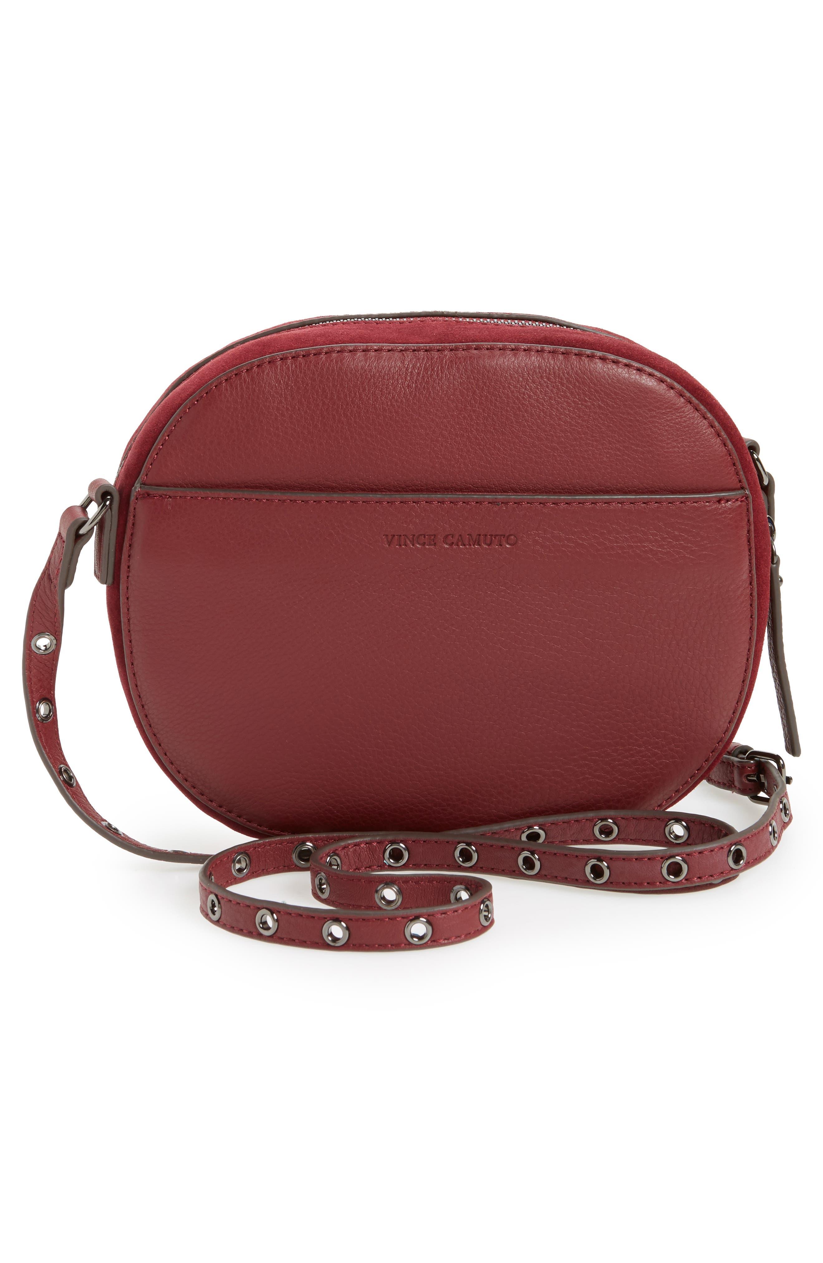 Alternate Image 2  - Vince Camuto Areli Suede & Leather Crossbody Bag