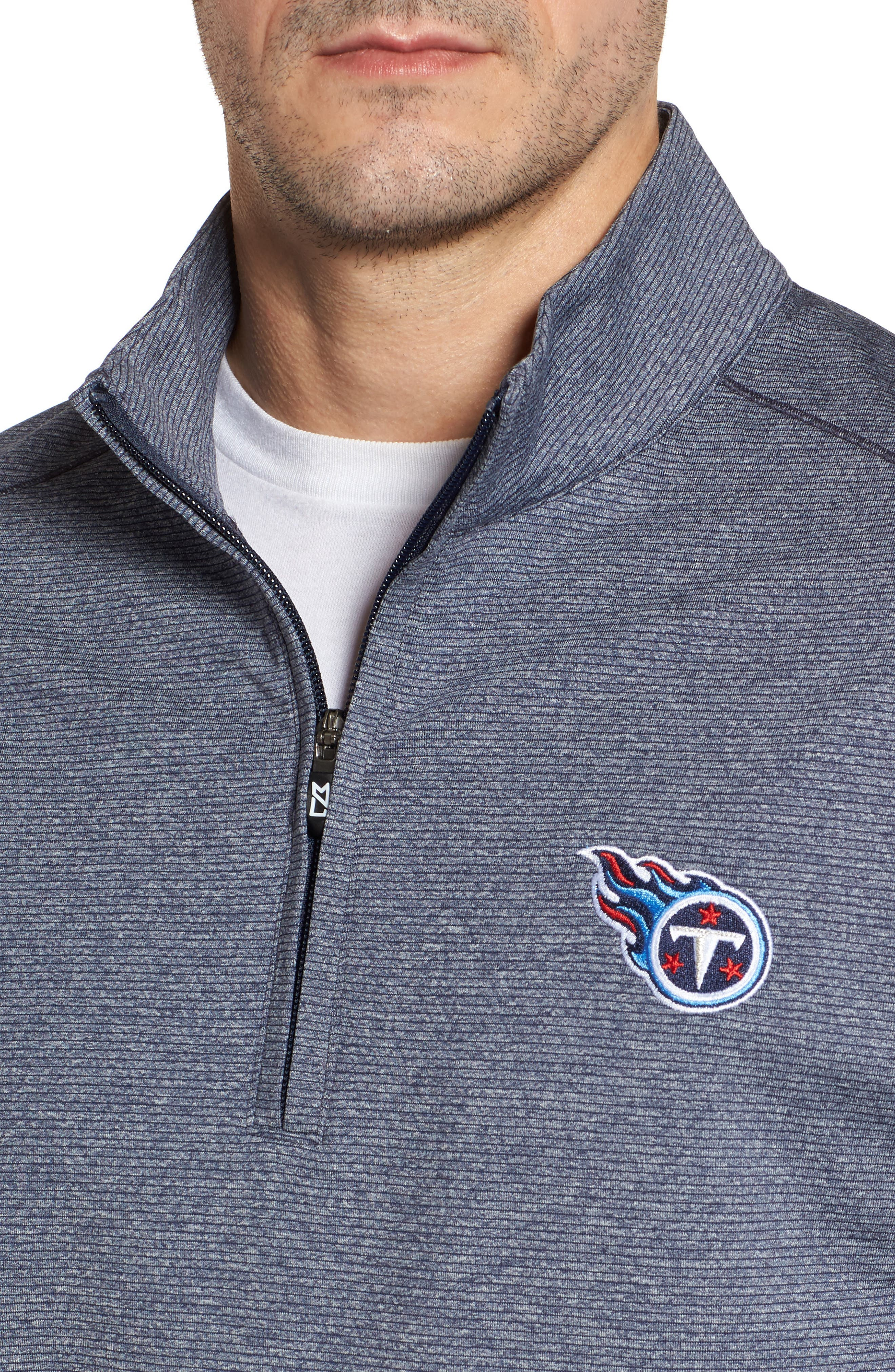 Alternate Image 4  - Cutter & Buck Shoreline - Tennessee Titans Half Zip Pullover