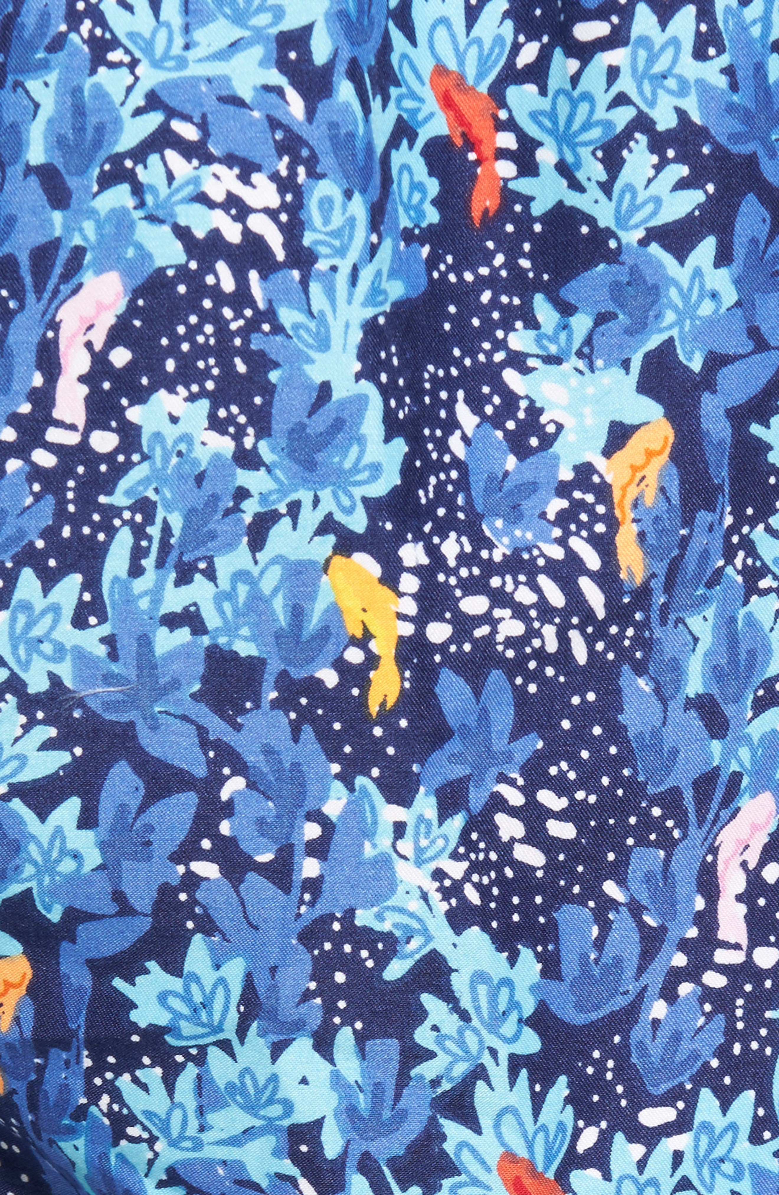 Under the Sea Swim Trunks,                             Alternate thumbnail 5, color,                             Atlantic Blue