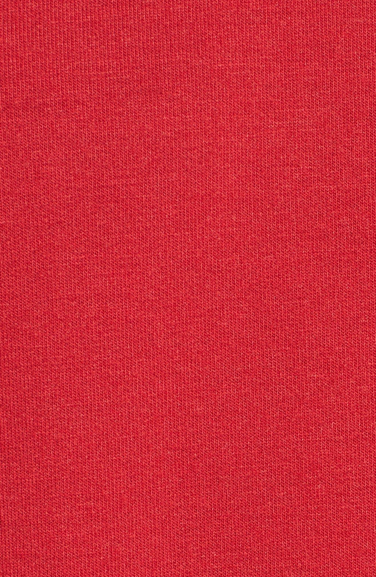 Alternate Image 5  - Socialite Cinch Sleeve Sweatshirt