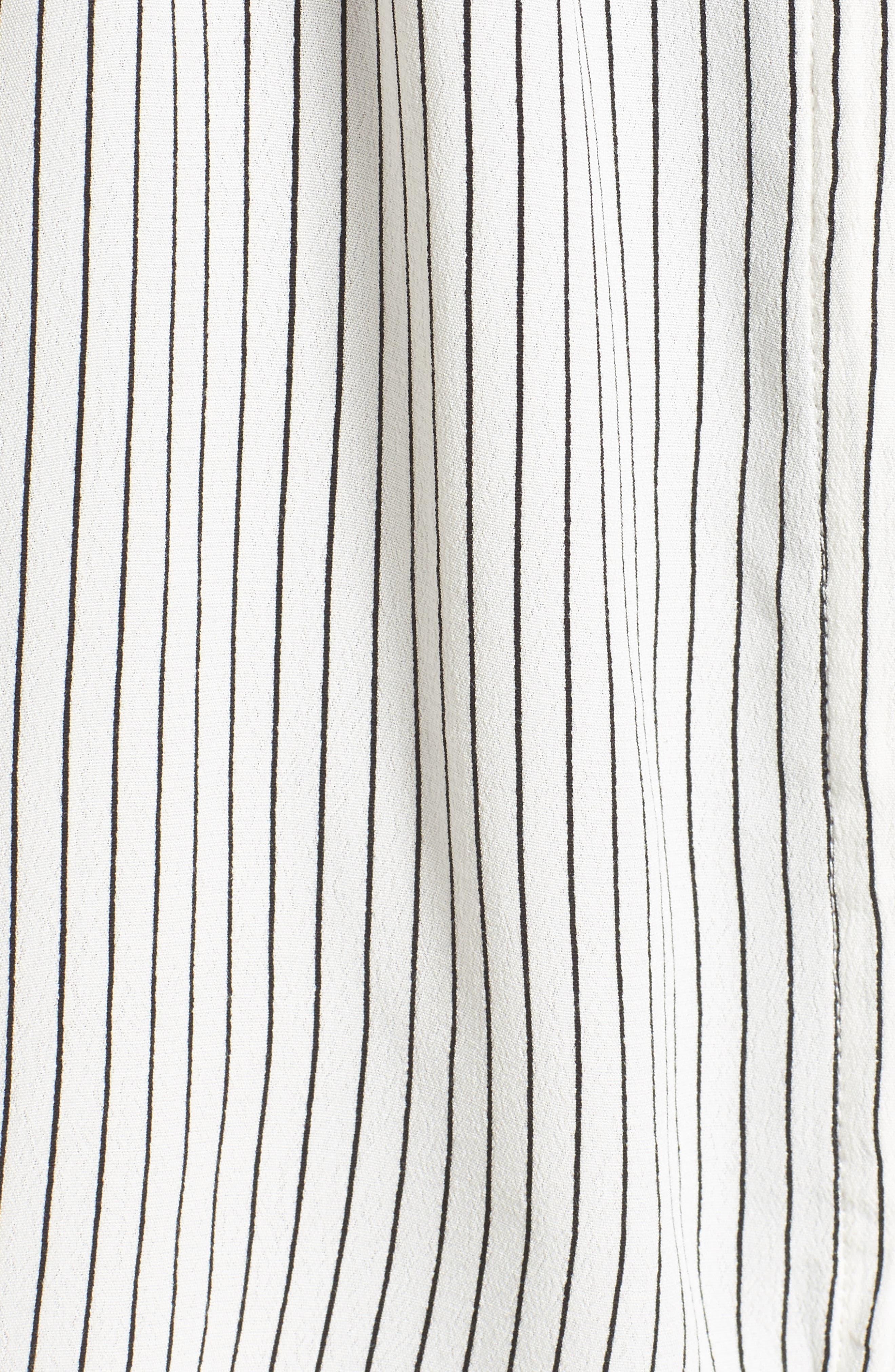 Alternate Image 6  - FAITHFULL THE BRAND Casa Stripe Shirtdress