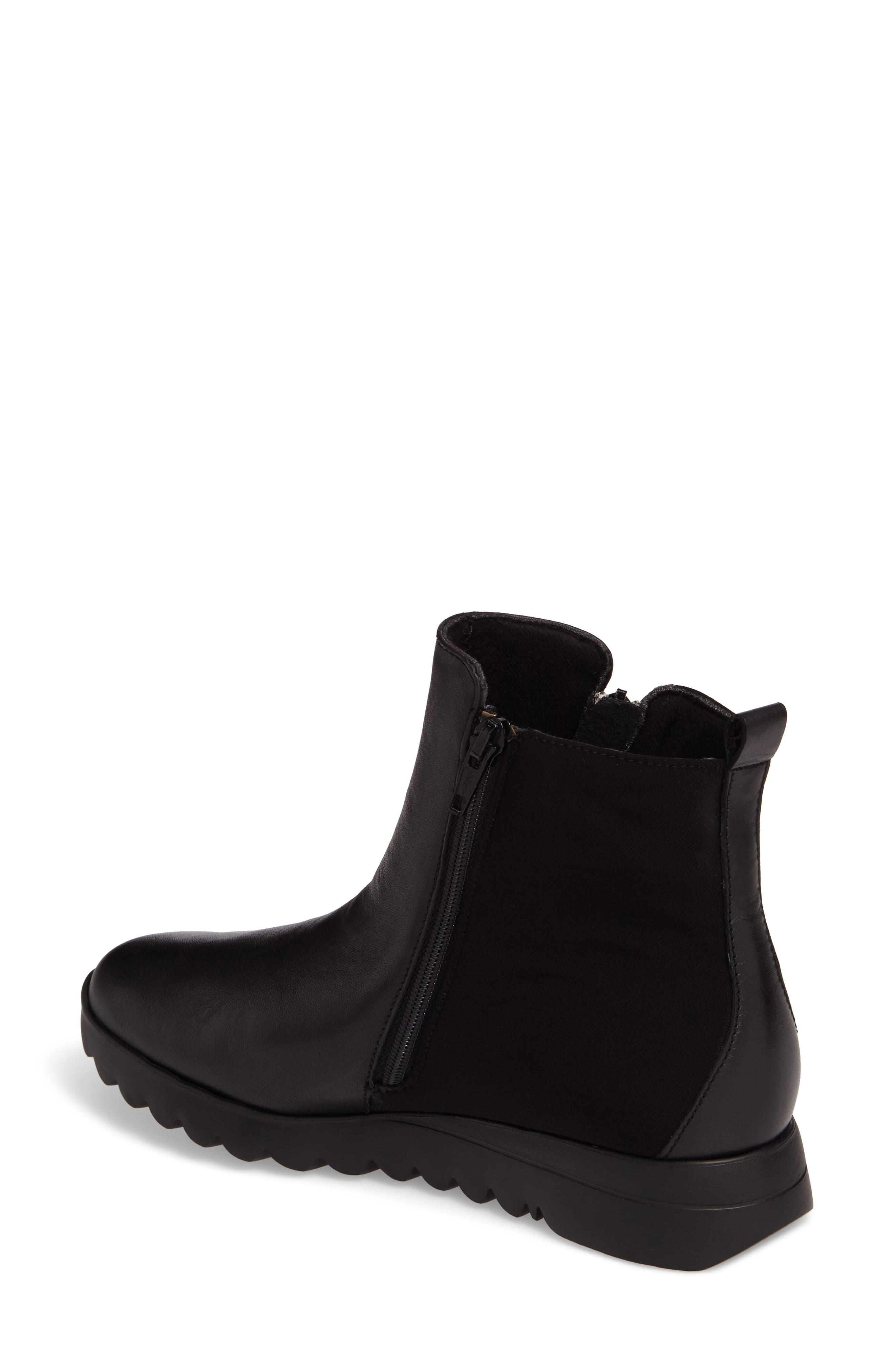 Ashcroft Bootie,                             Alternate thumbnail 2, color,                             Black Leather