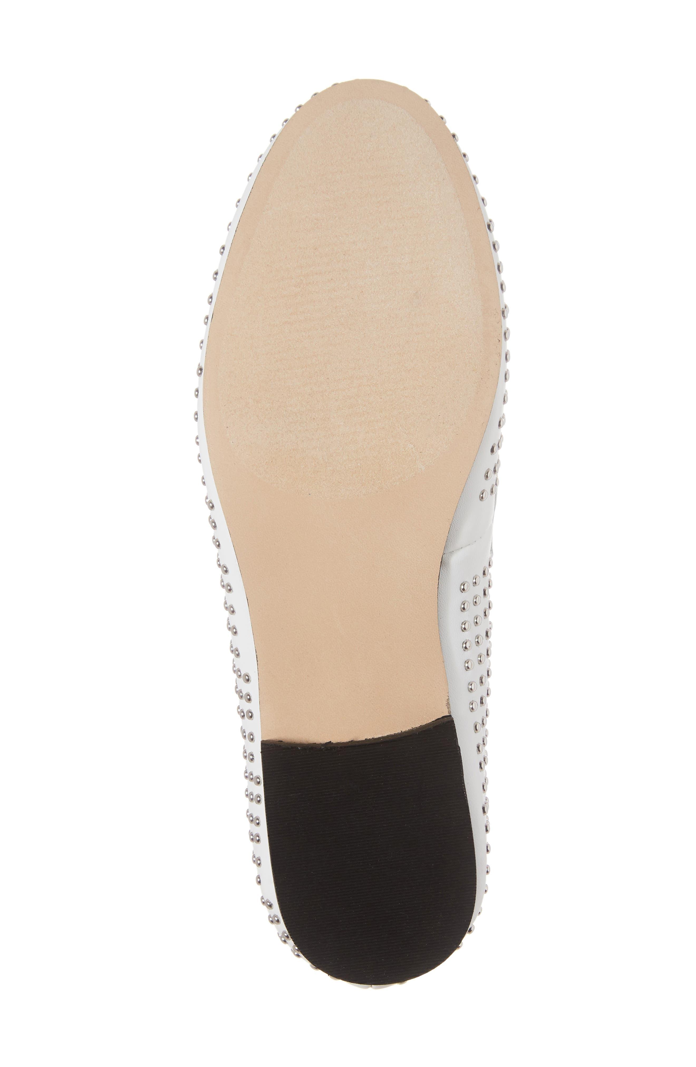 Alternate Image 6  - Steve Madden Kast Studded Loafer (Women)