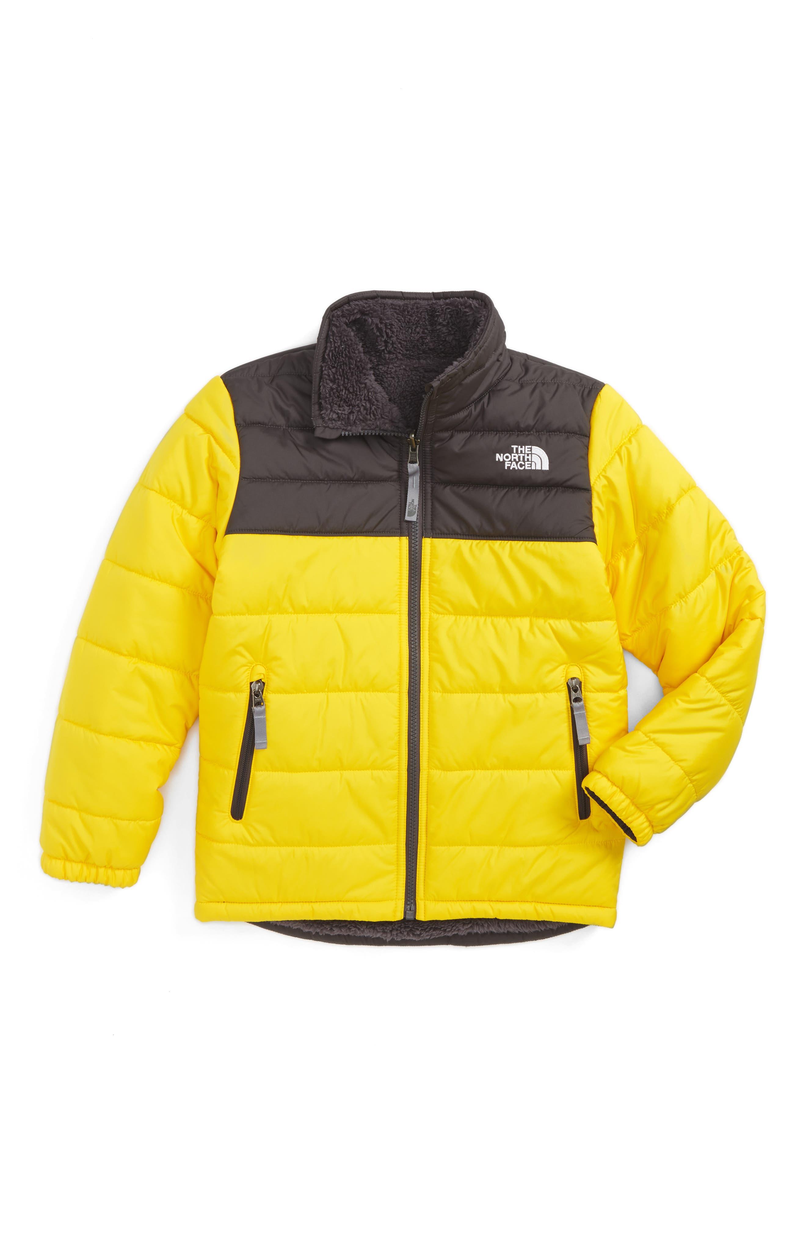Mount Chimborazo Reversible Jacket,                         Main,                         color, Canary Yellow