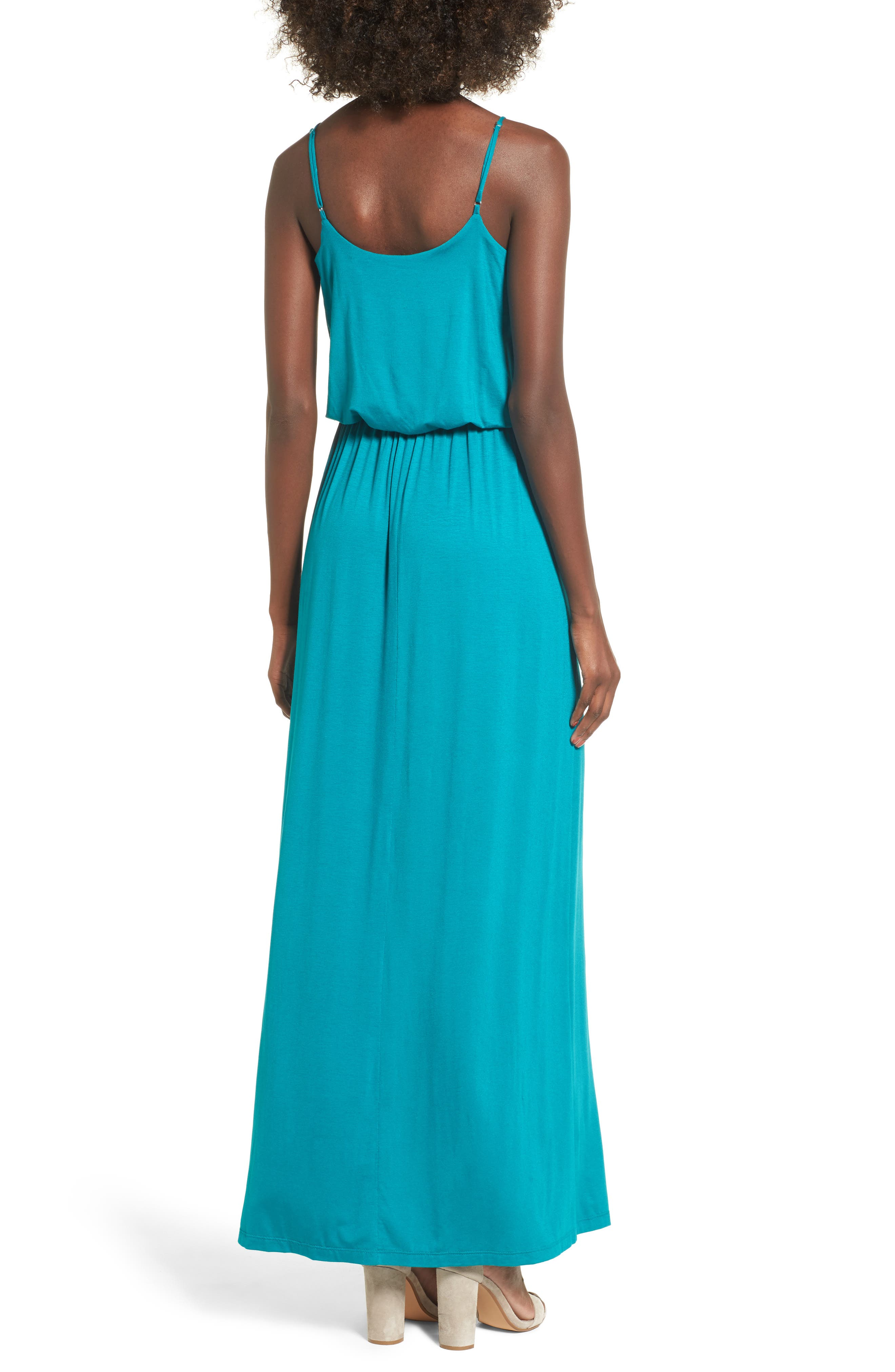 Alternate Image 2  - Knit Maxi Dress