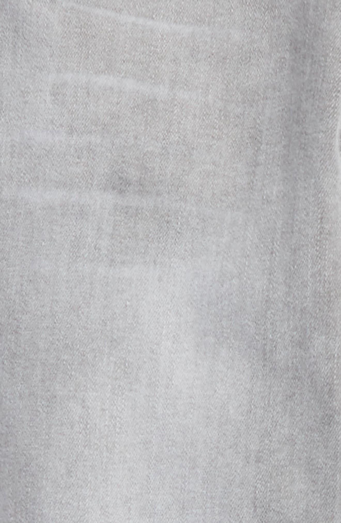 Alternate Image 3  - Tractr Release Hem Skinny Jeans (Big Girls)