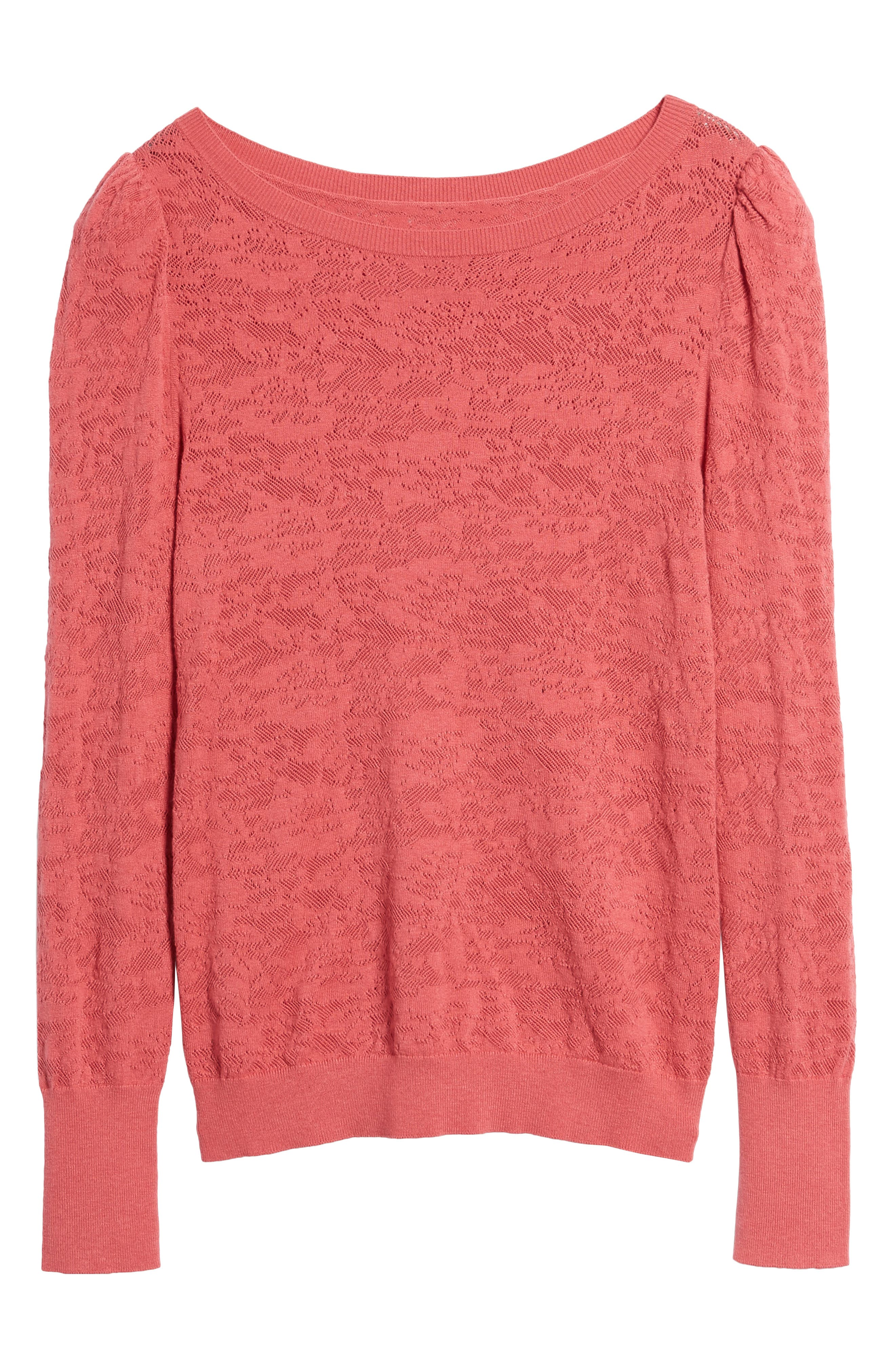 Alternate Image 6  - Hinge Puff Sleeve Pullover