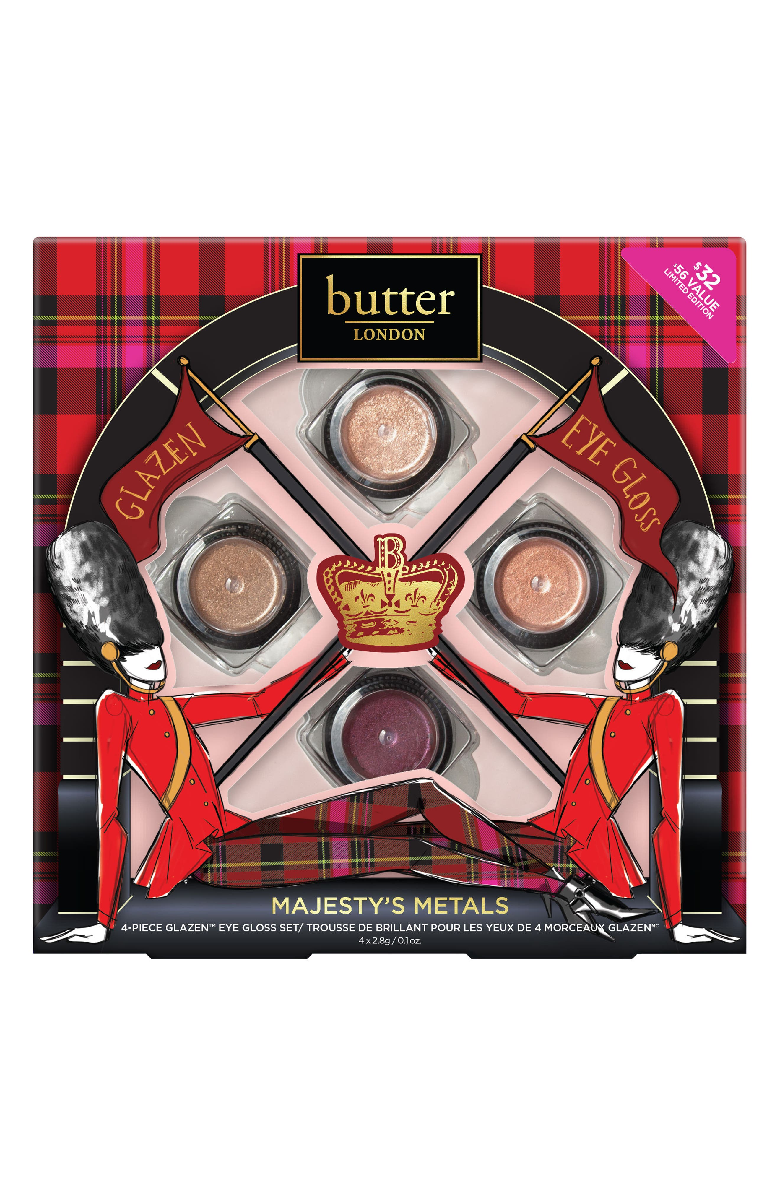 Main Image - butter LONDON Majesty's Metals Collection ($56 Value)