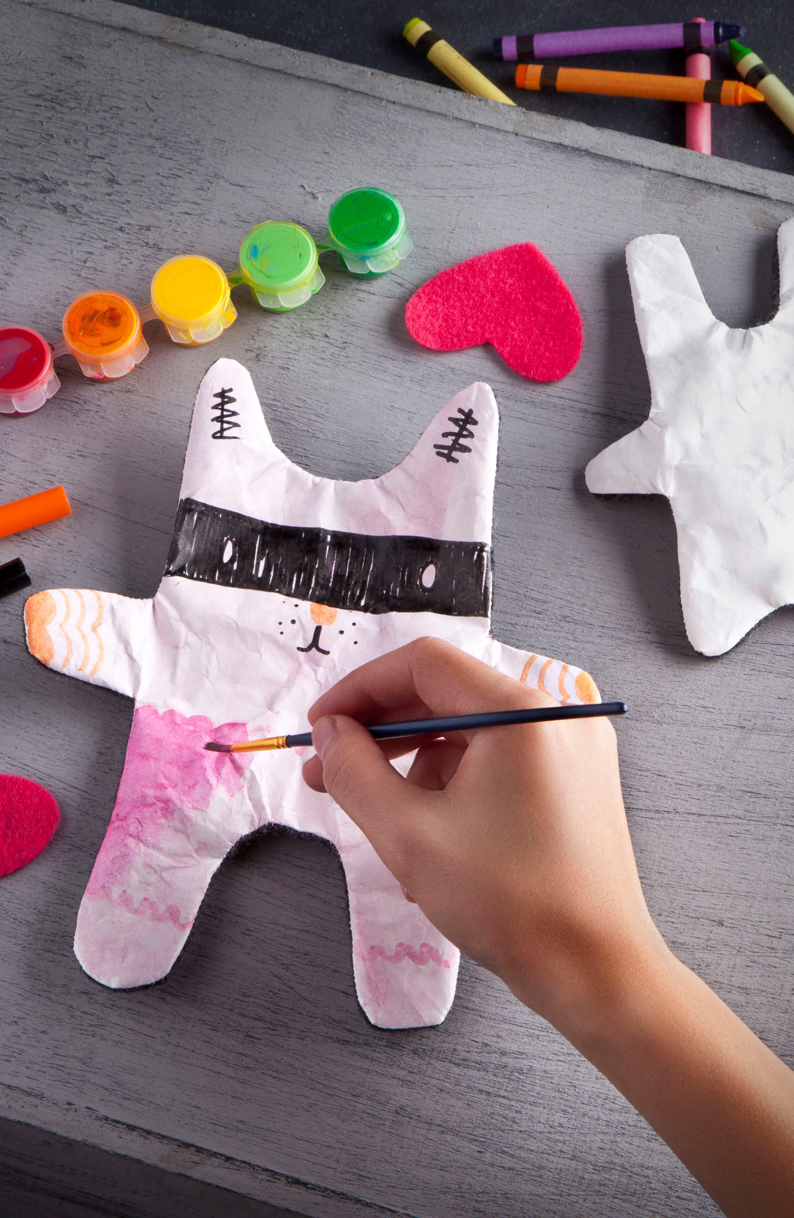 Design Your Own Stuffies Kit,                             Alternate thumbnail 2, color,                             Purple