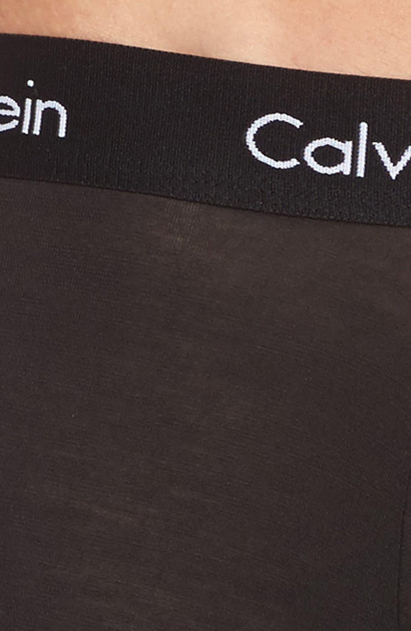 Alternate Image 5  - Calvin Klein Body 3-Pack Stretch Modal Boxer Briefs