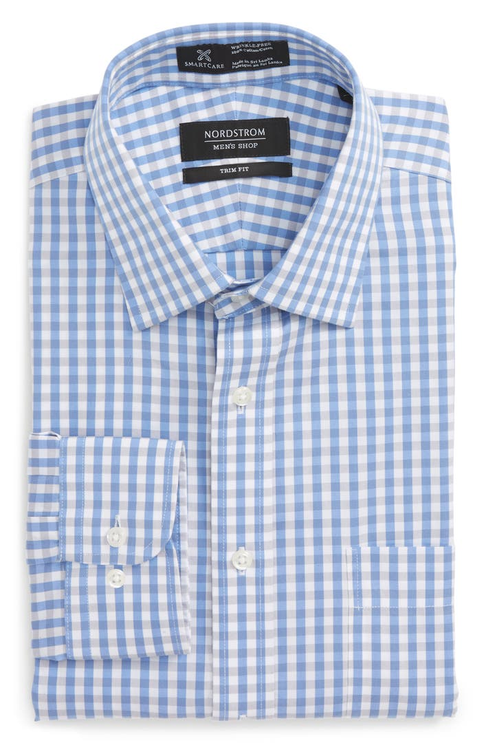 Nordstrom Men's Shop Classic Fit Non-Iron Gingham Dress ...  From Dress Shirts Nordstrom