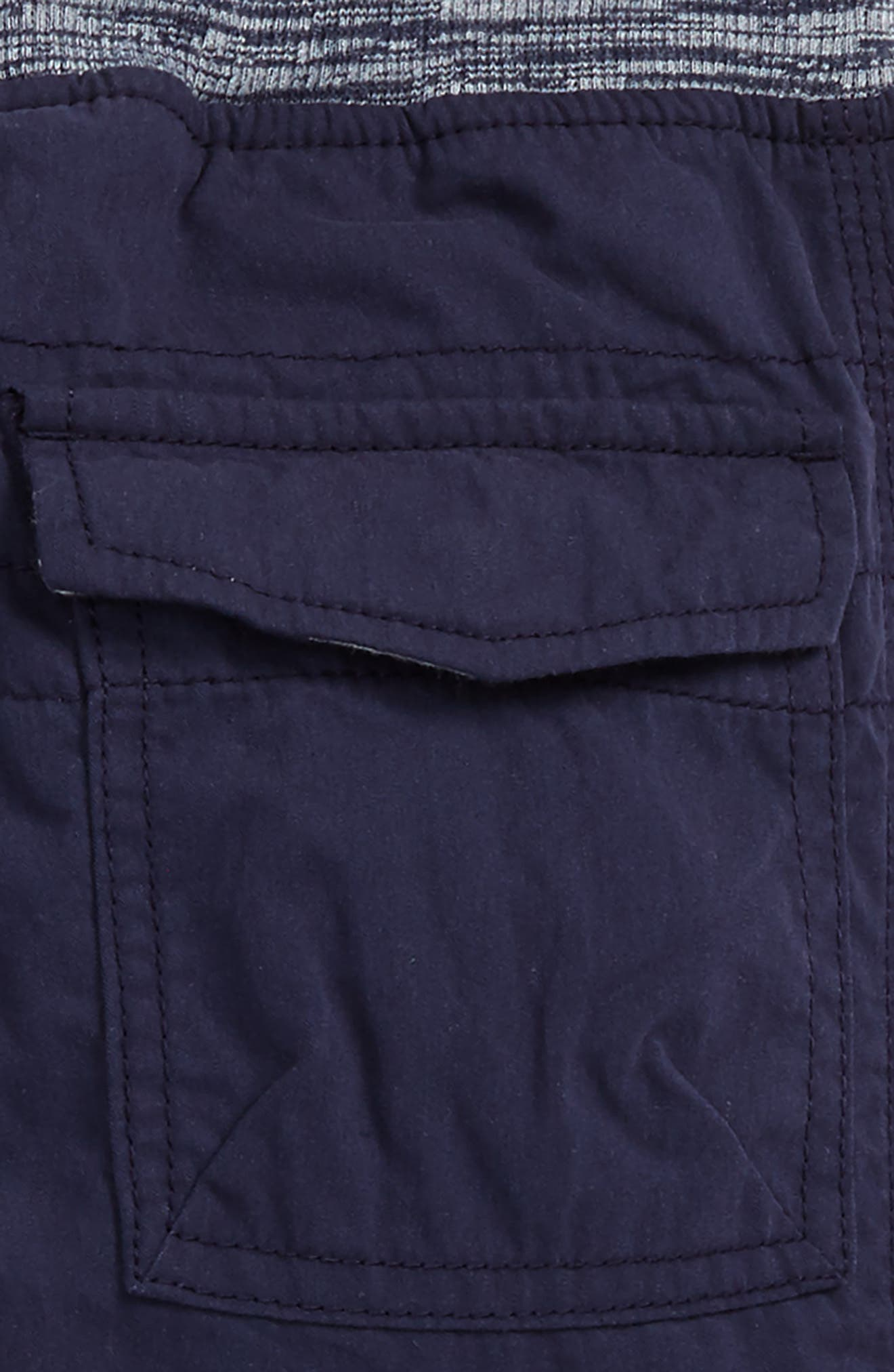 Lined Cargo Pants,                             Alternate thumbnail 3, color,                             Navy