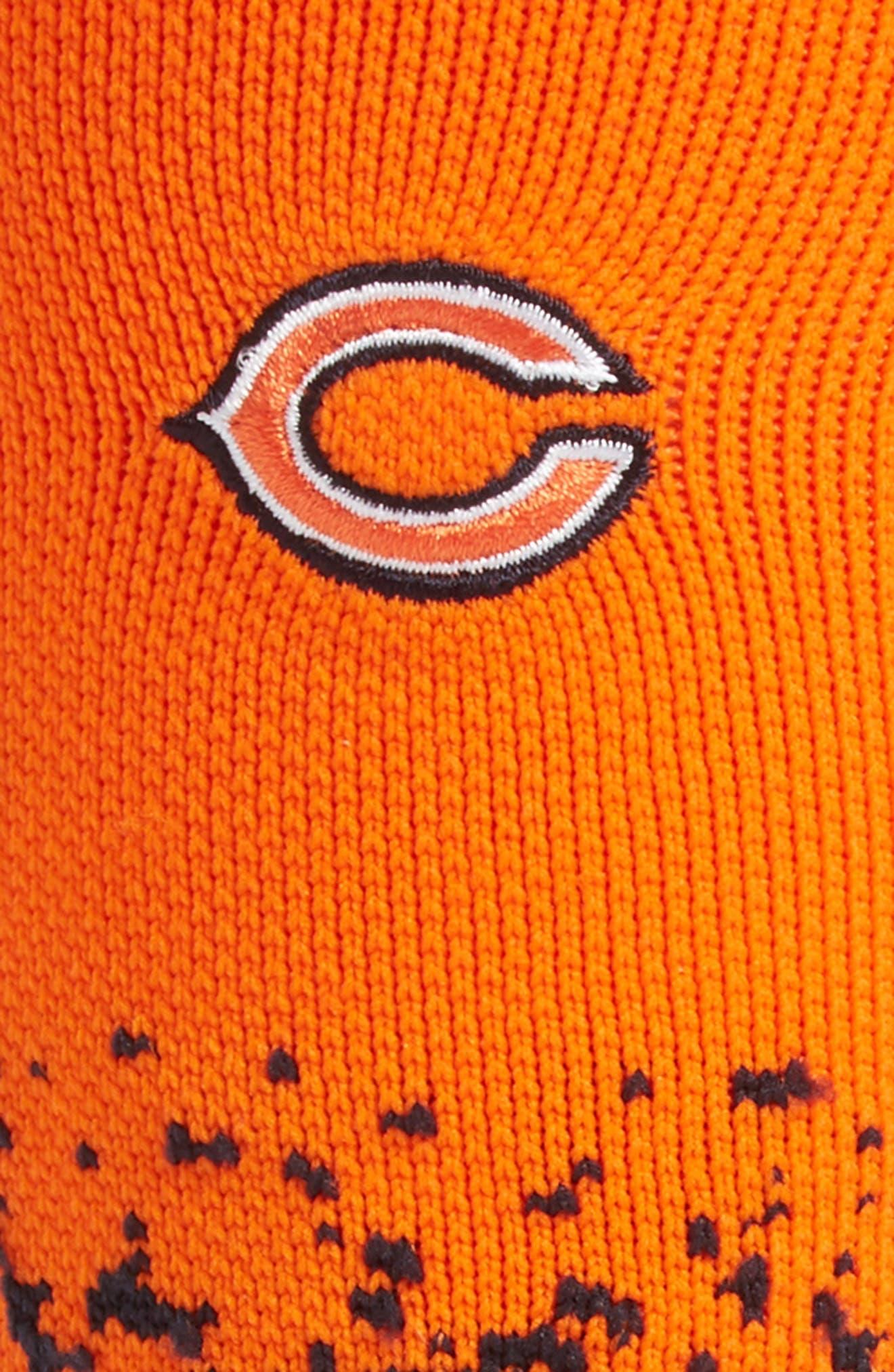 Chicago Bears - Fade Socks,                             Alternate thumbnail 2, color,                             Orange