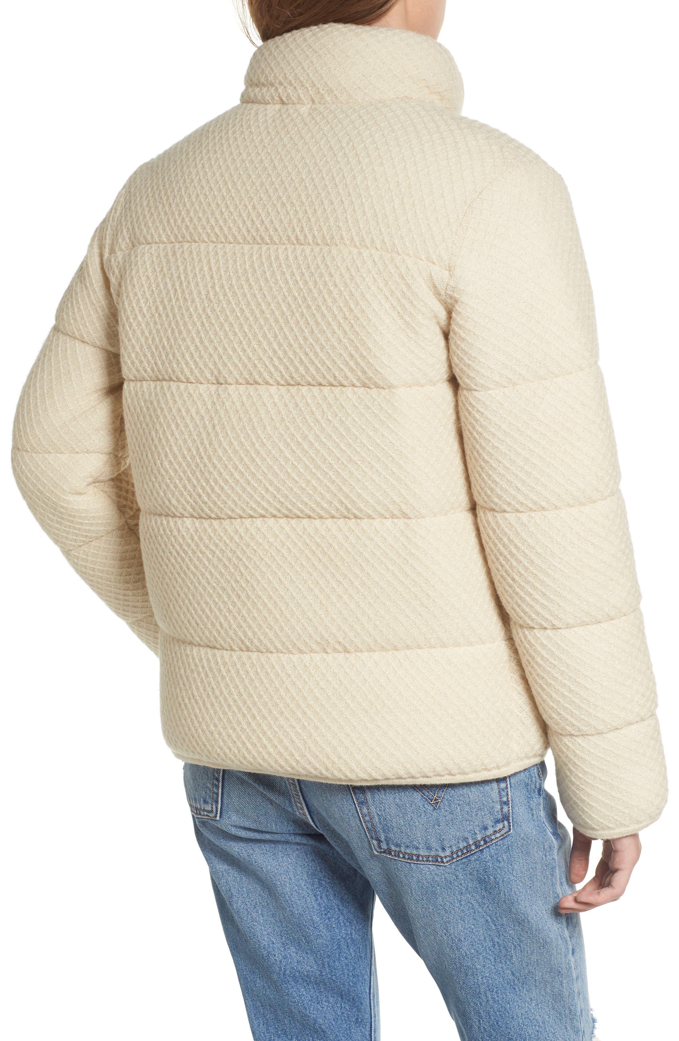 Alternate Image 2  - BP. Knit Puffer Jacket