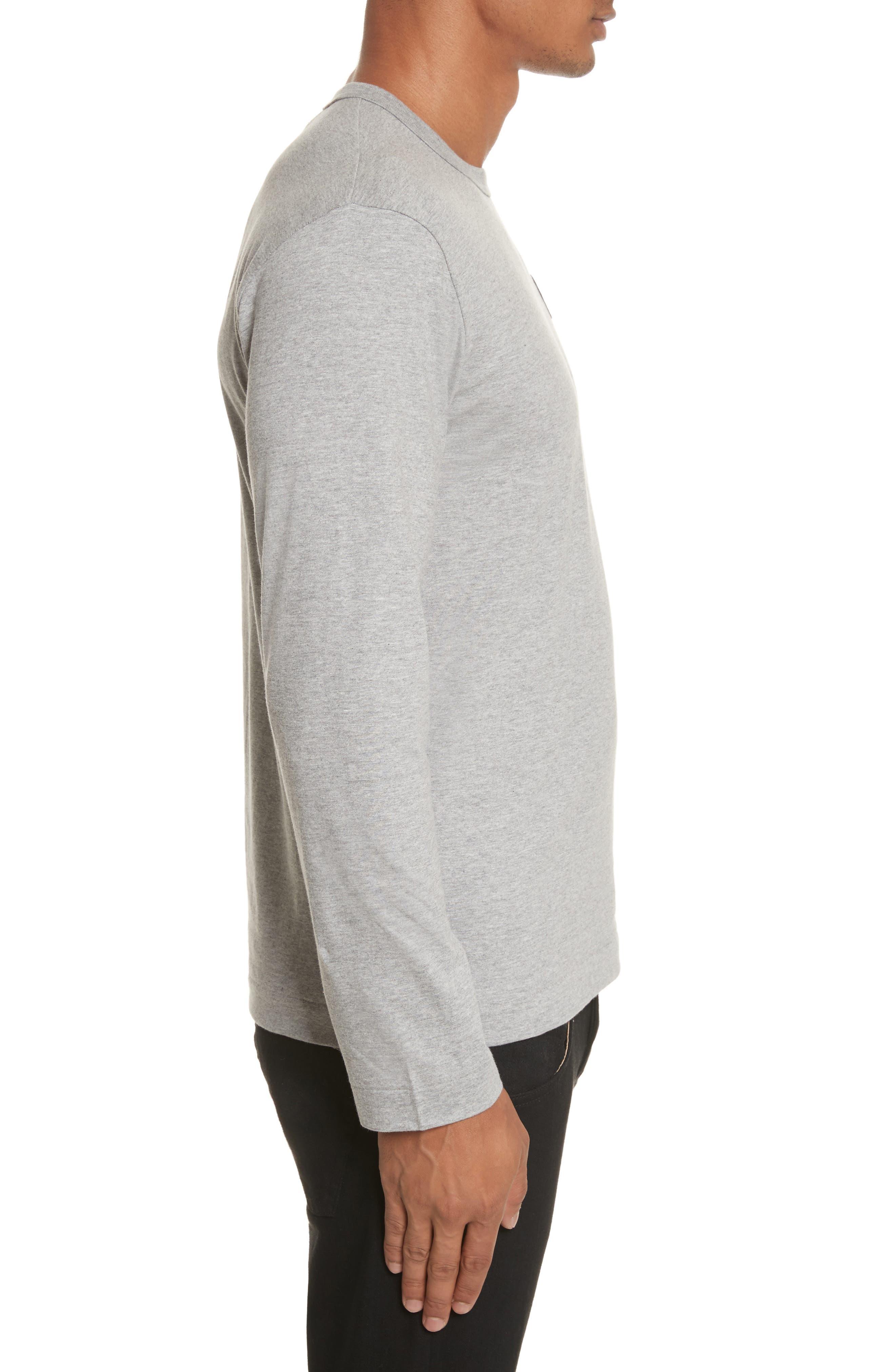 PLAY Long Sleeve T-Shirt,                             Alternate thumbnail 3, color,                             Grey