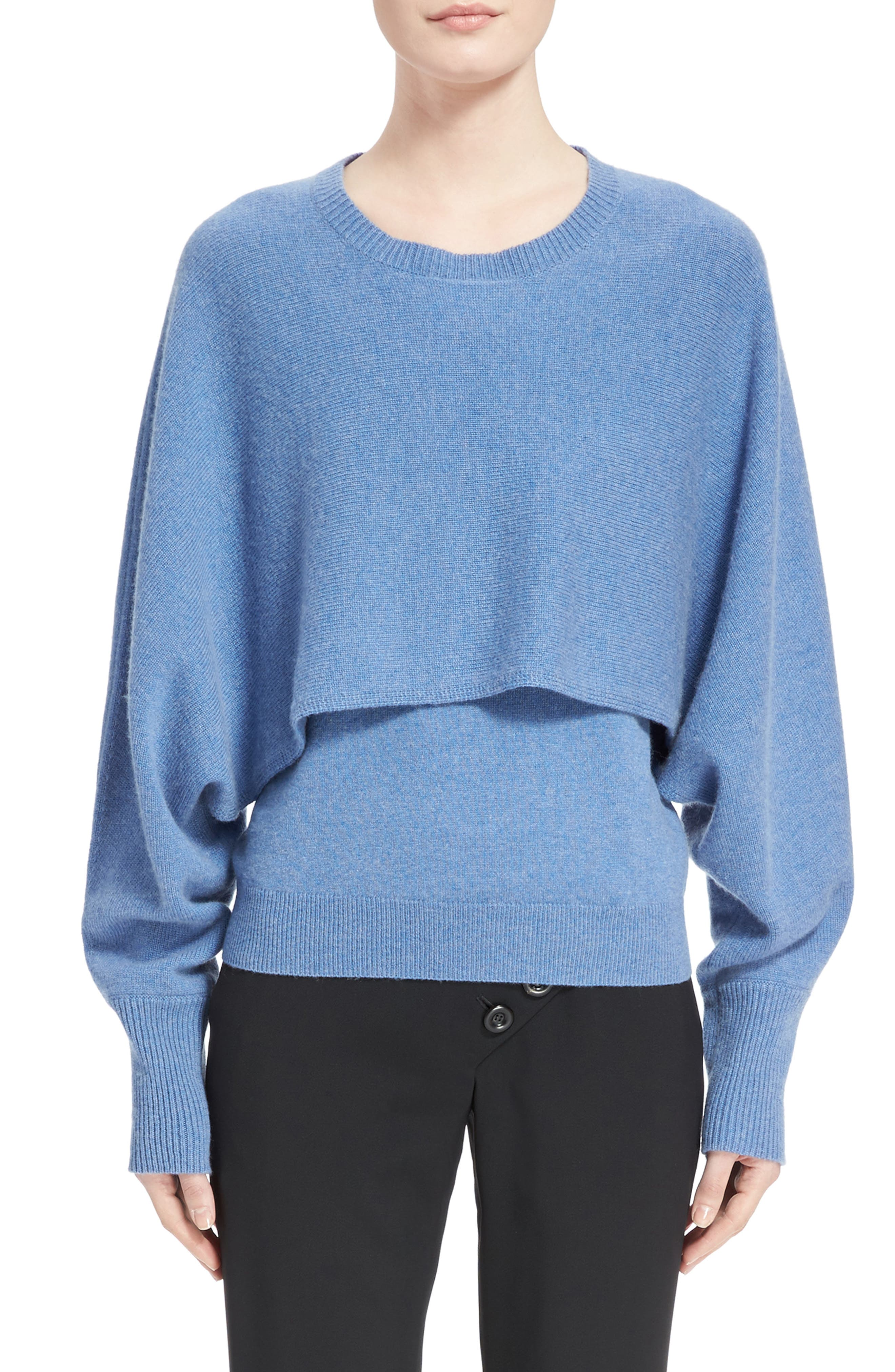 Main Image - Chloé Layered Cashmere Tank & Sweater