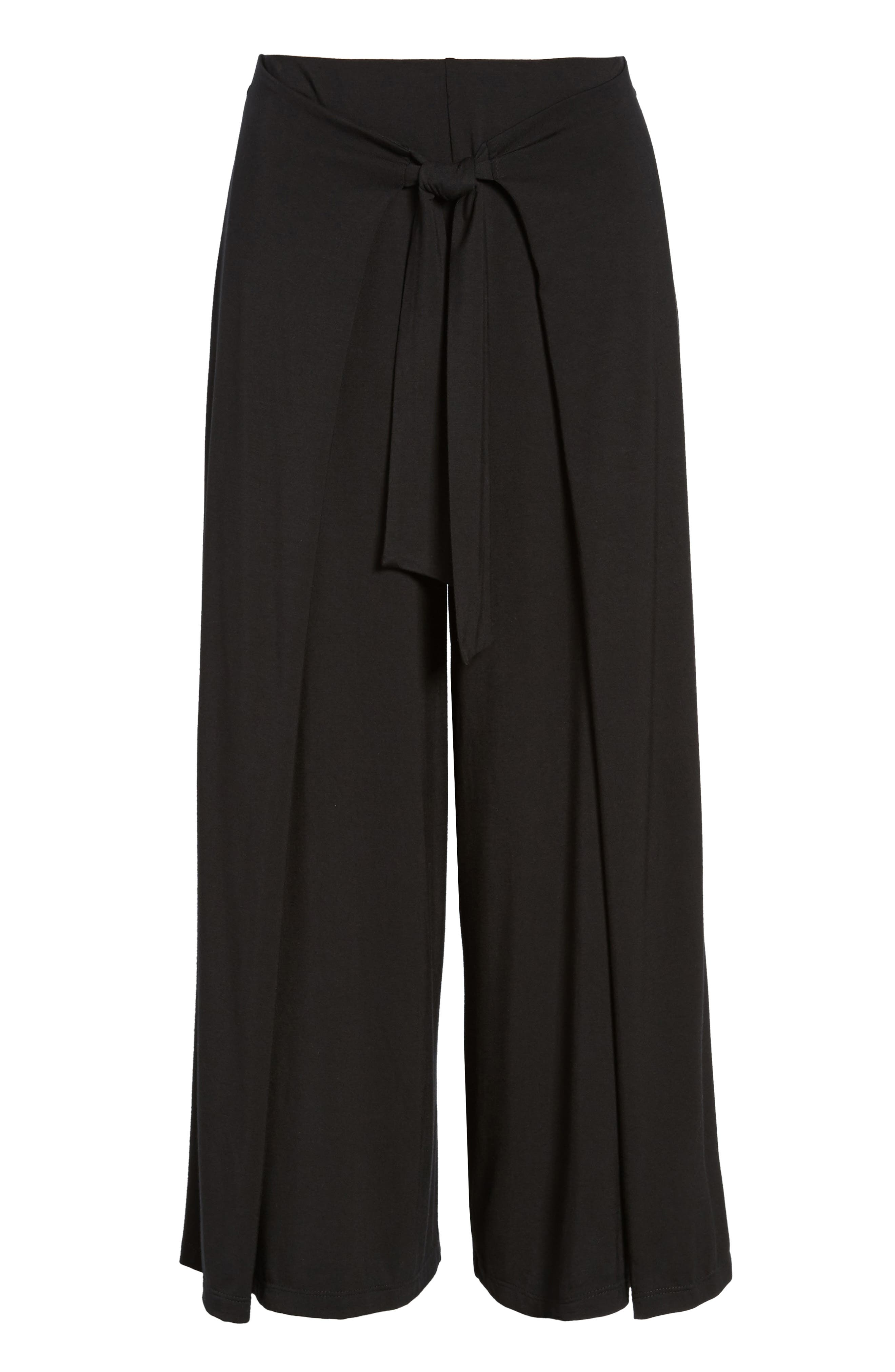 Alternate Image 6  - Soprano Tie Front Wide Leg Pants