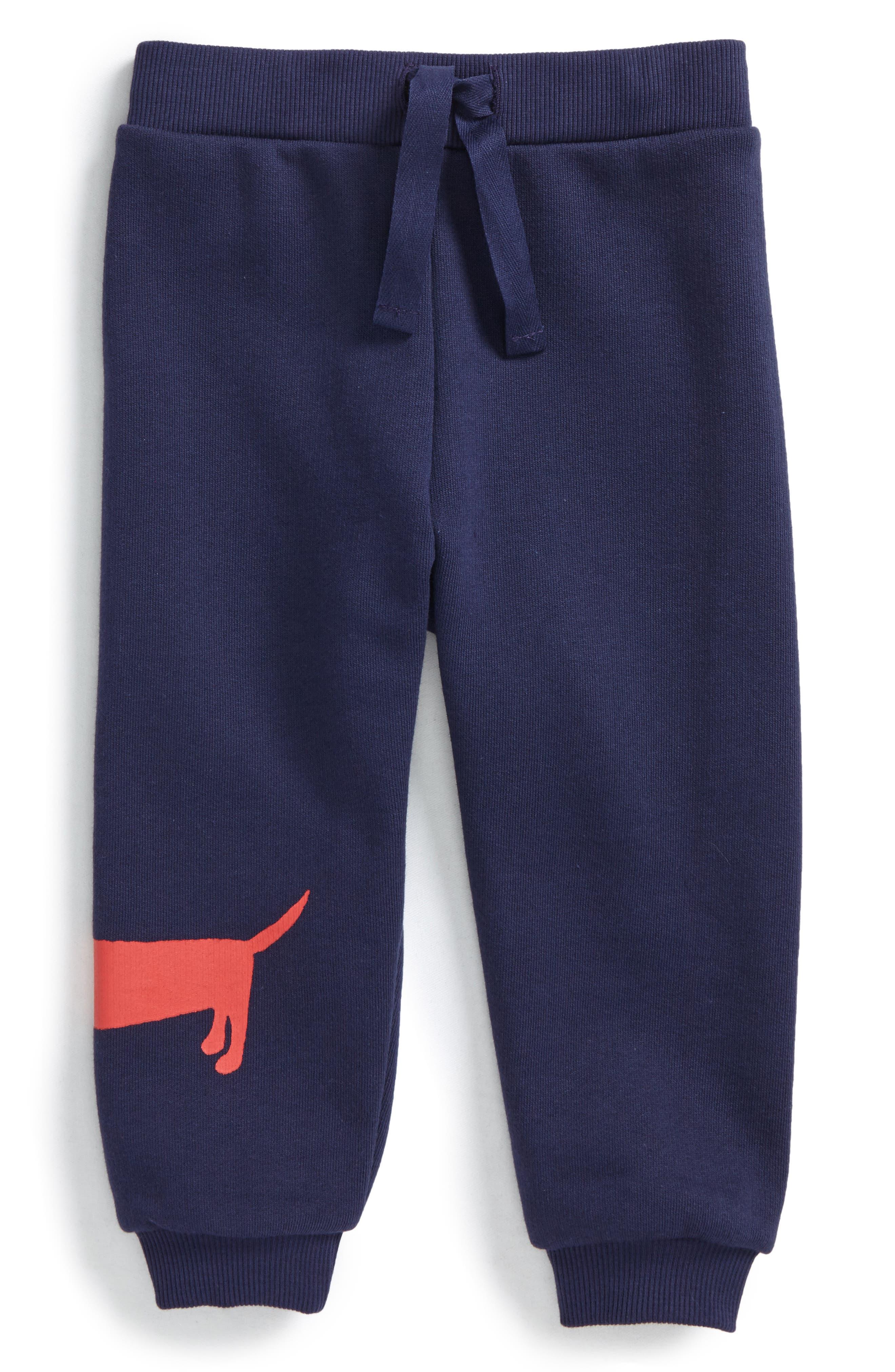 Main Image - Mini Rodini Dog Sweatpants (Baby Boys)