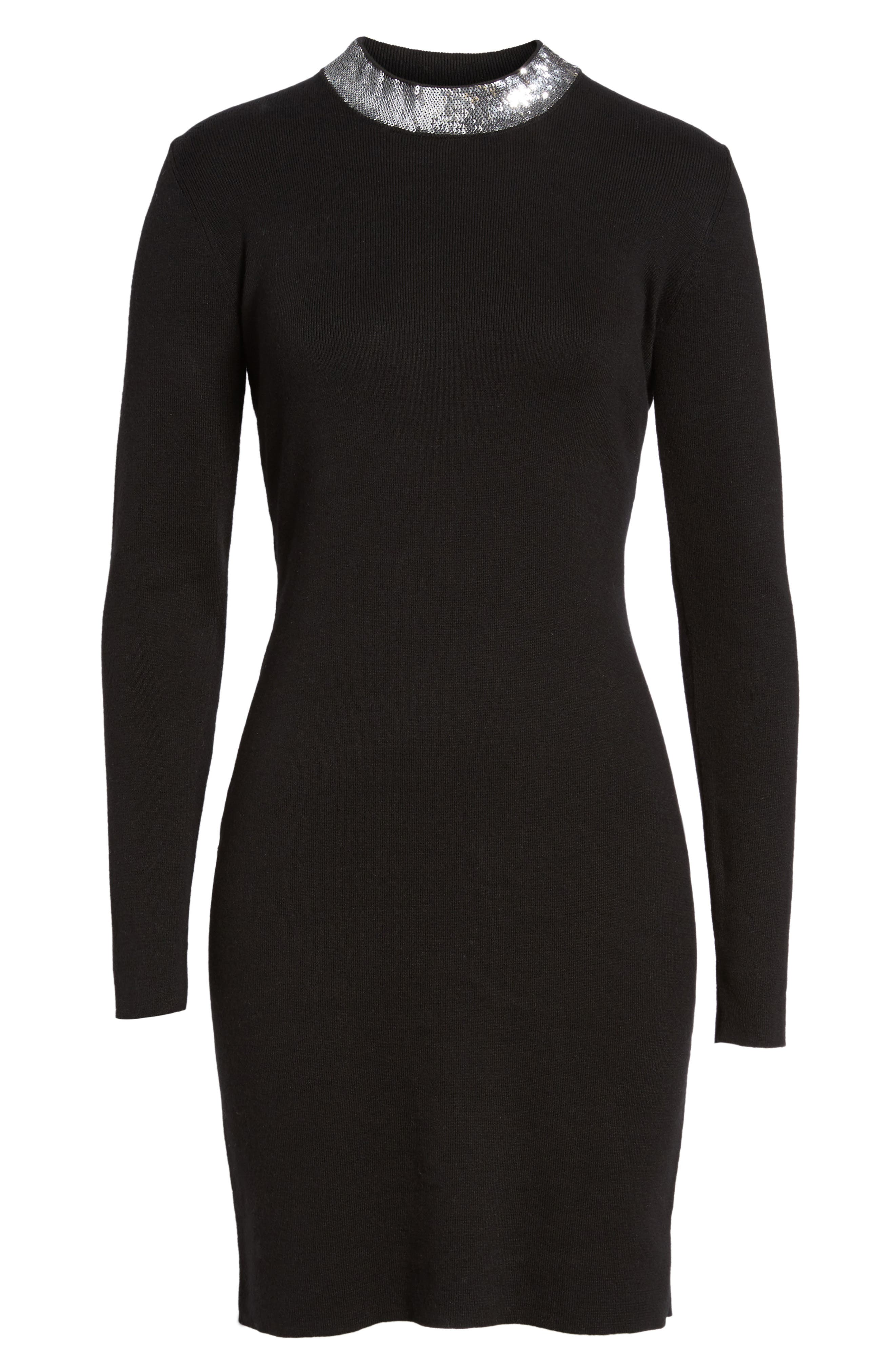 Alternate Image 6  - MICHAEL MIchael Kors Sequin Collar Dress