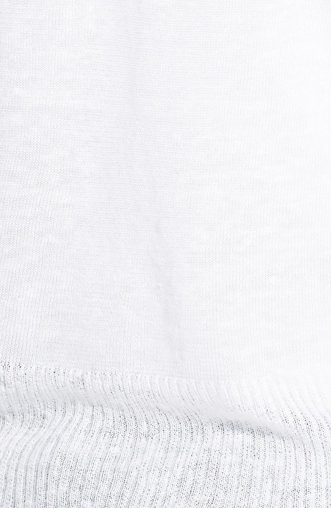 4-Way Convertible Three Quarter Sleeve Cardigan,                             Alternate thumbnail 2, color,                             Paper White