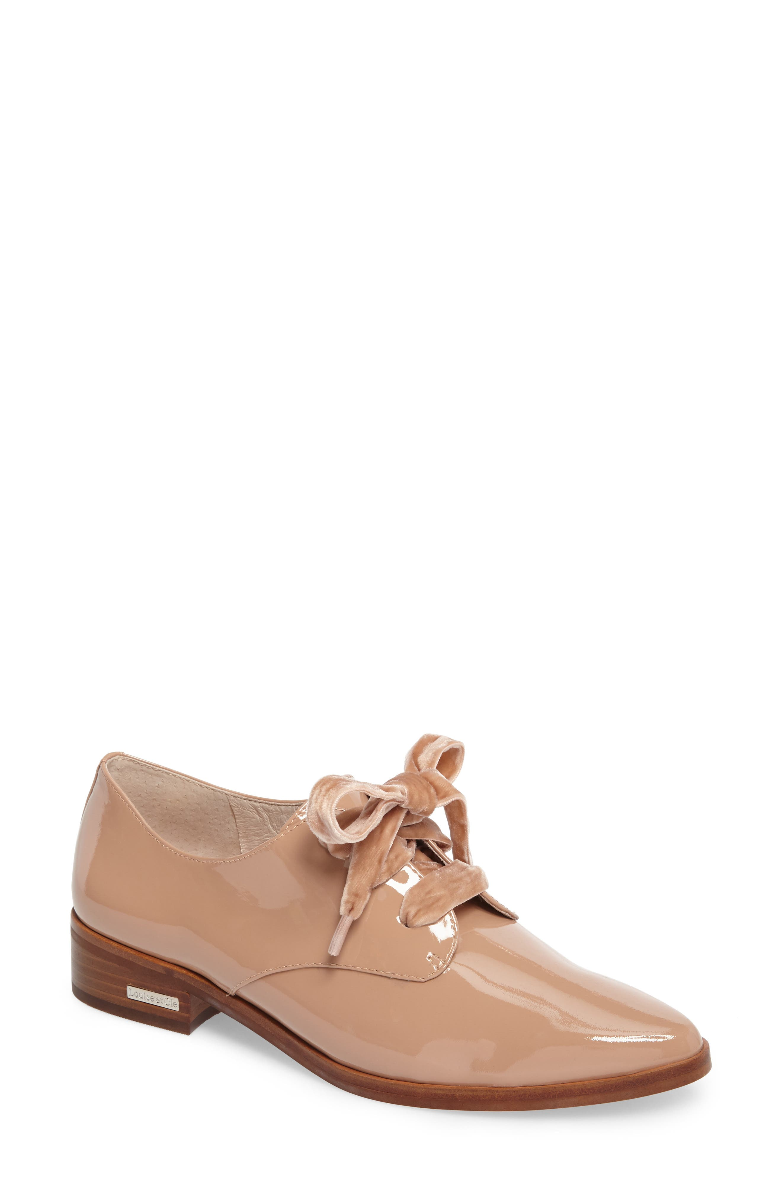 Alternate Image 1 Selected - Louise et Cie 'Adwin' Almond Toe Oxford (Women) (Nordstrom Exclusive)
