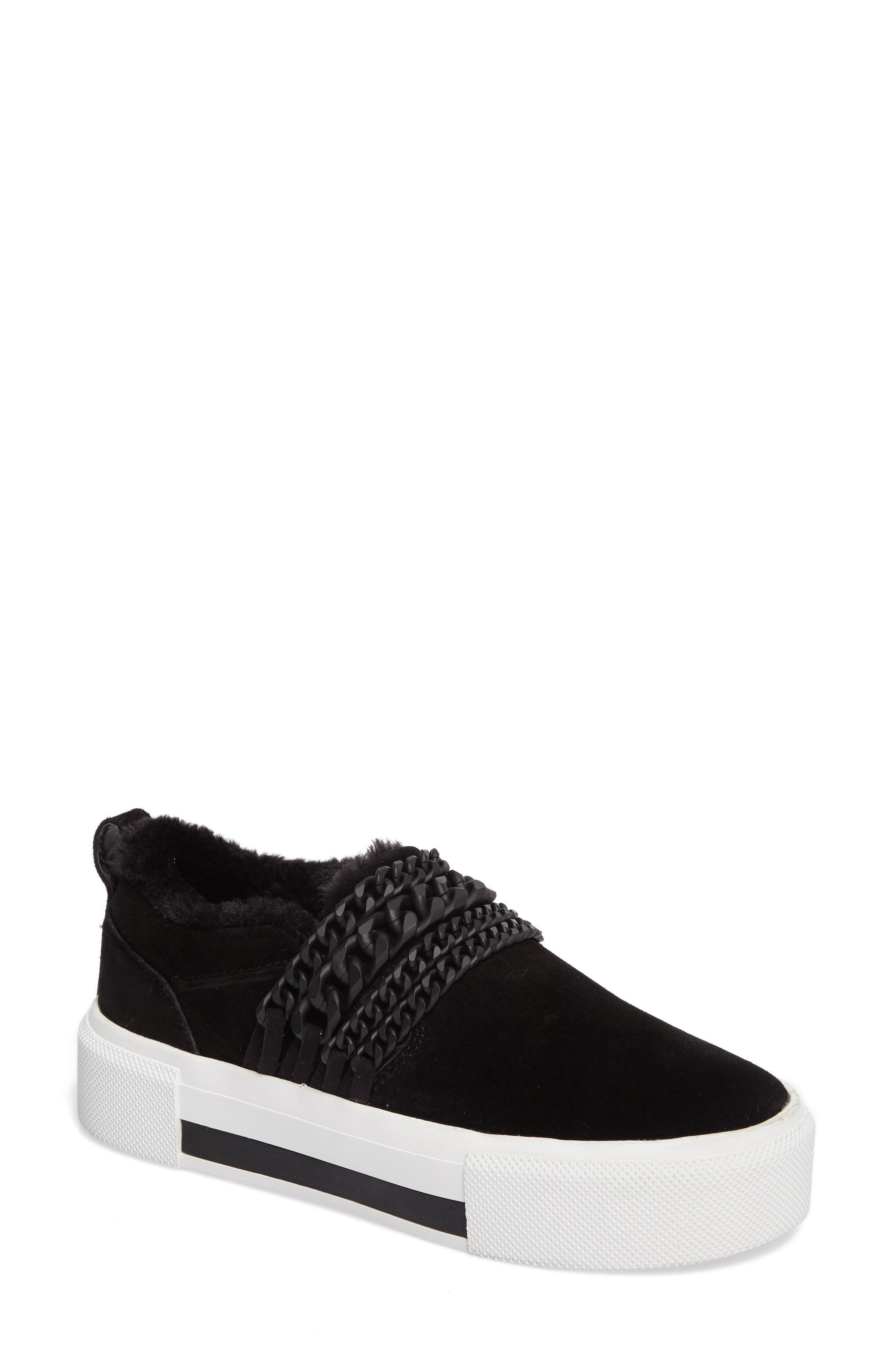 Tory Platform Sneaker,                         Main,                         color, Black
