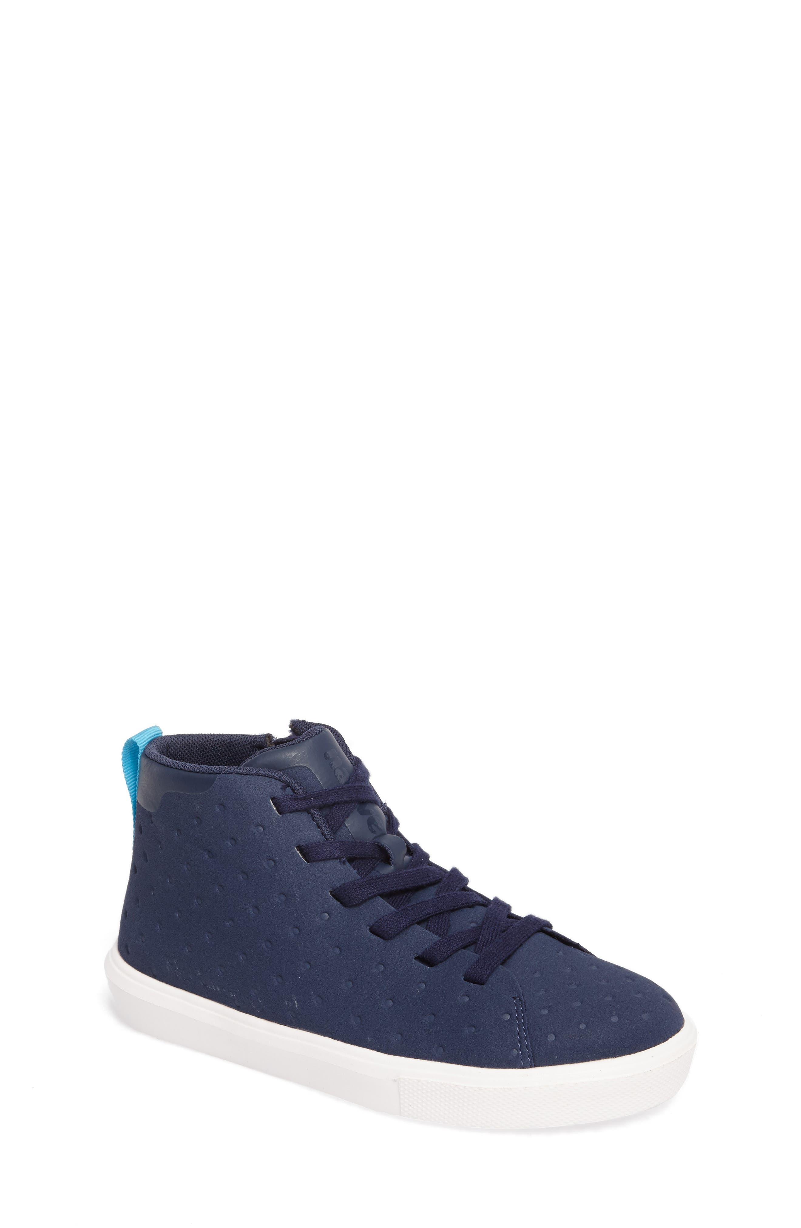 Native Monaco Sneaker,                         Main,                         color, Regatta Blue/ Shell White