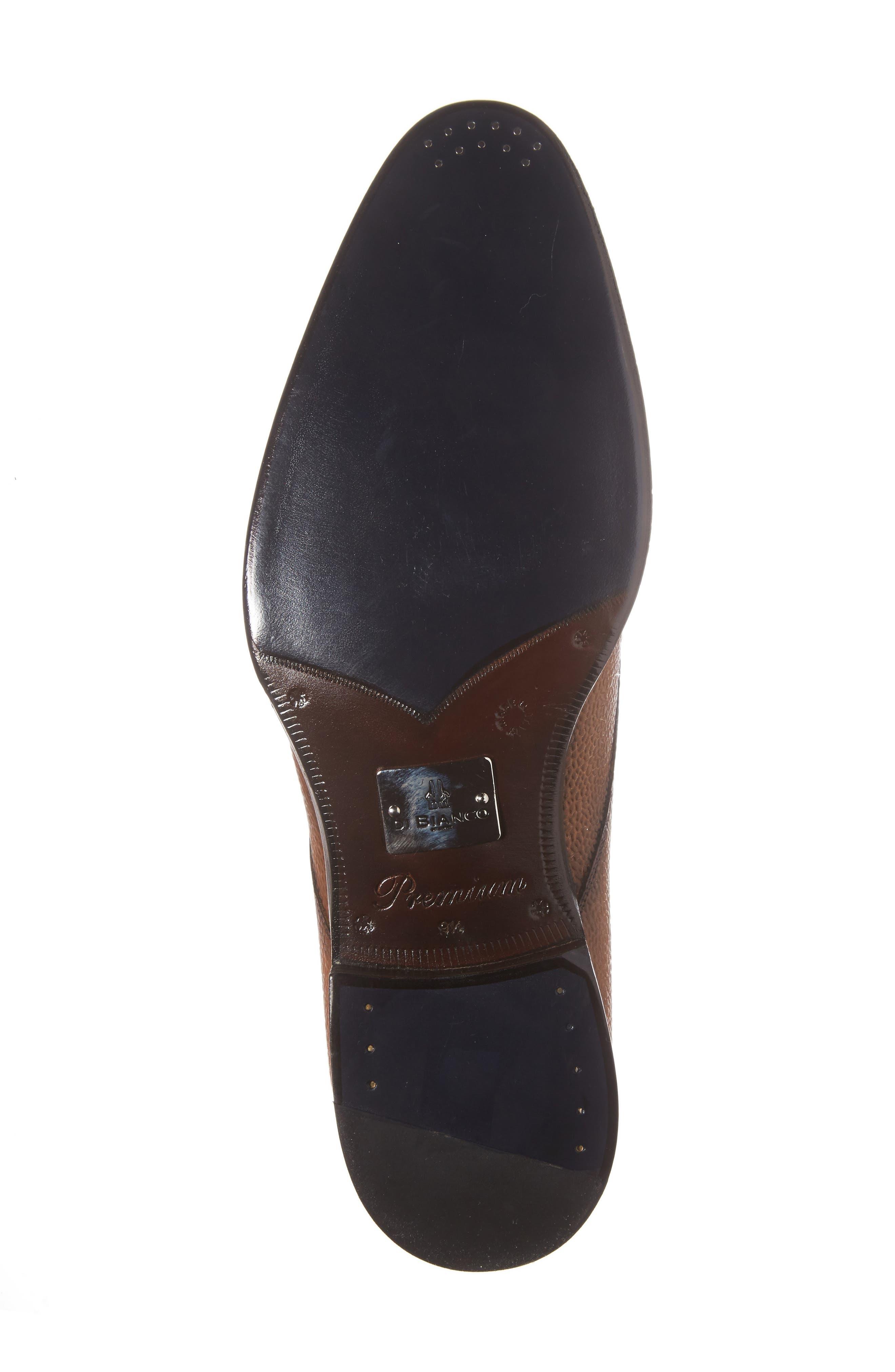 Alternate Image 6  - Di Bianco Gallo Plain Toe Derby (Men)