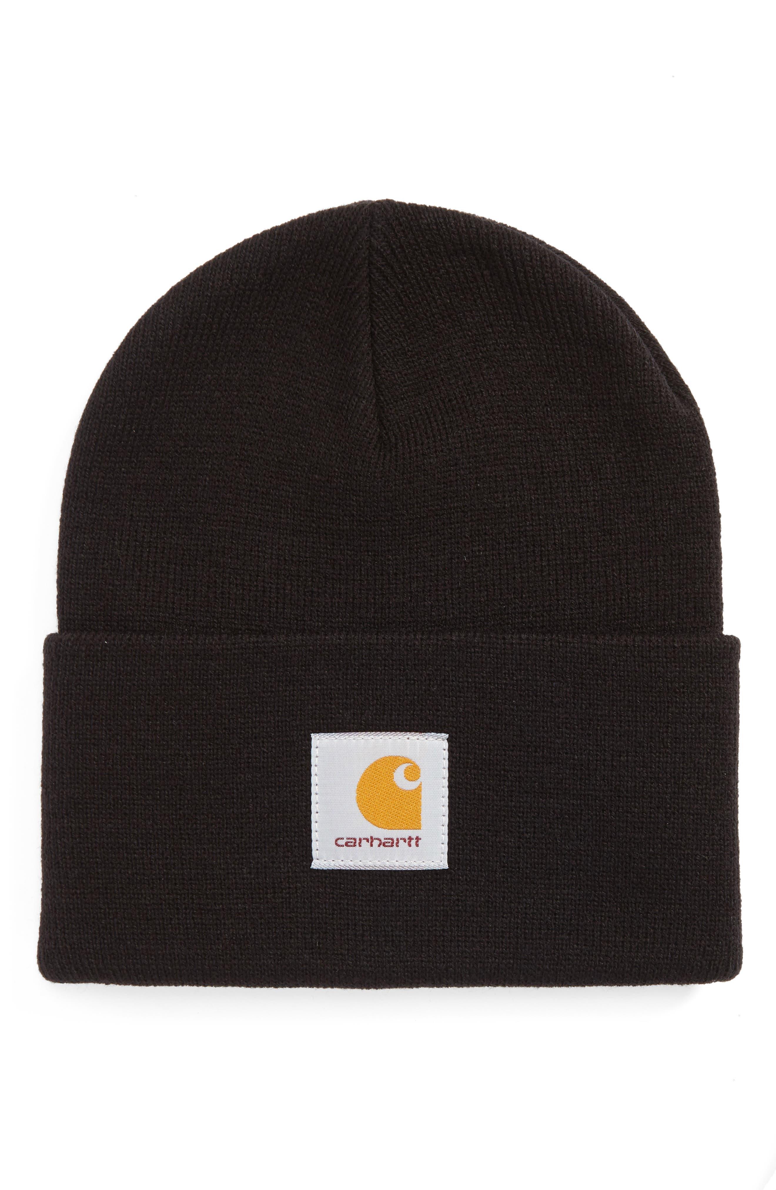 Knit Cap,                         Main,                         color, Black