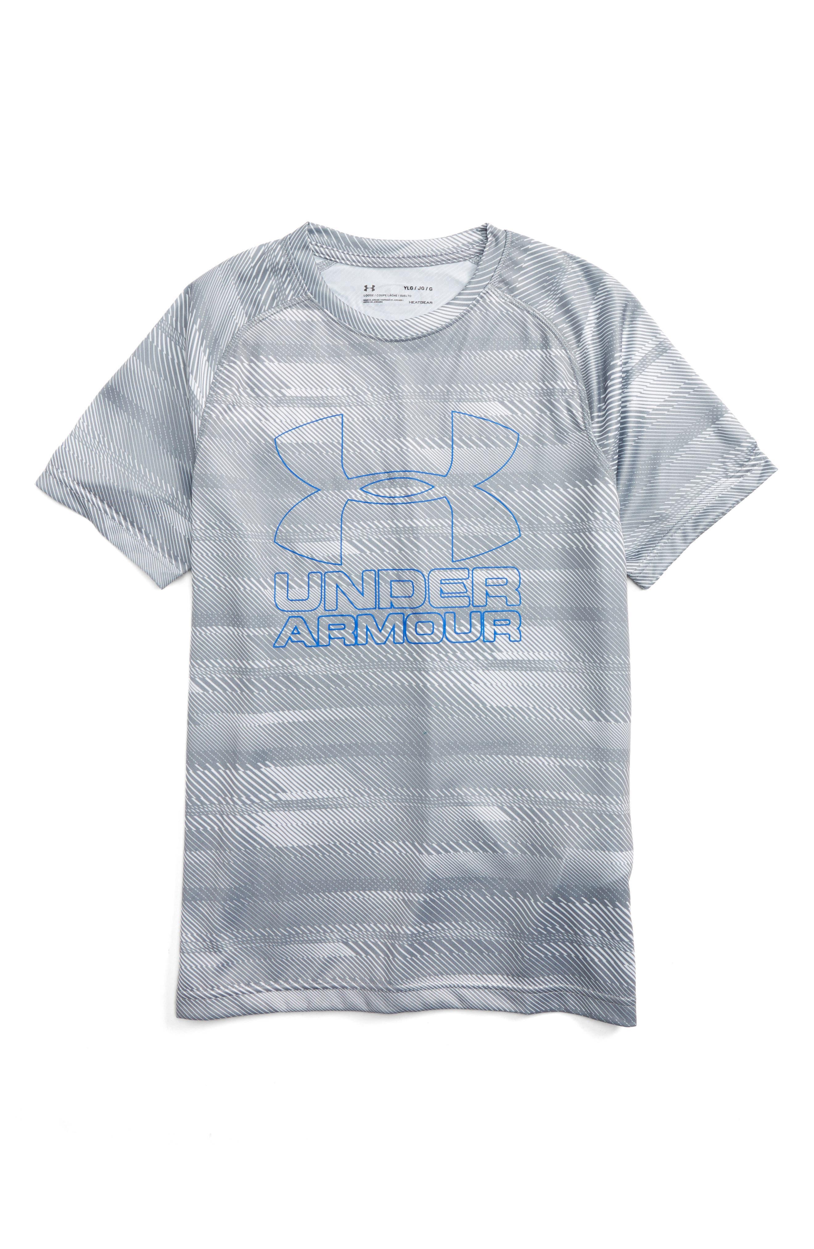 Under Armour Big Logo Print T-Shirt (Little Boys & Big Boys)