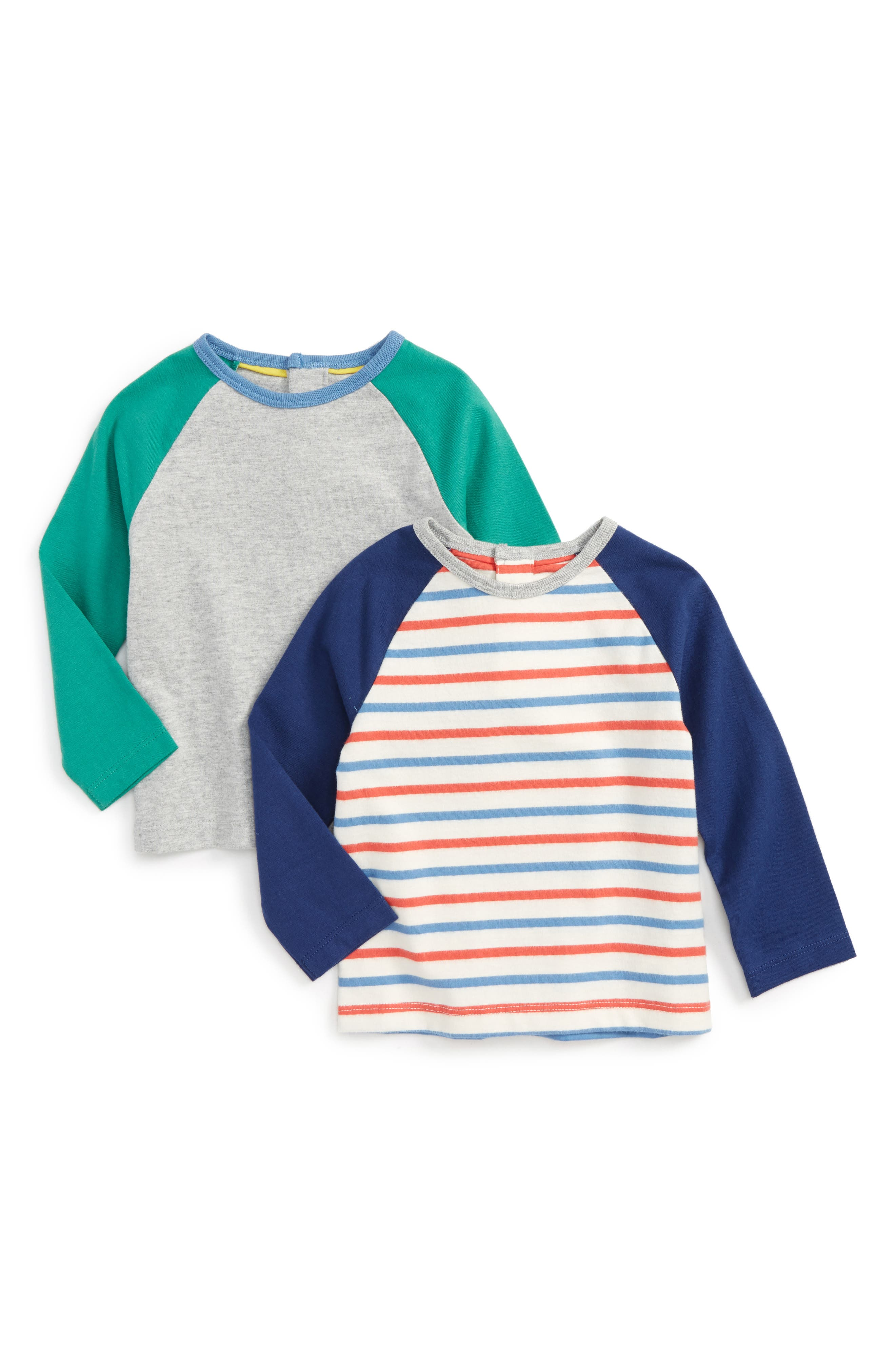 Alternate Image 1 Selected - Mini Boden 2-Pack T-Shirts (Baby Boys & Toddler Boys)