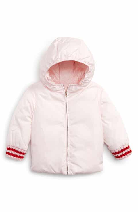 15df1d0c39eab Gucci Reversible GG Jacquard Water-Resistant Down Jacket (Baby Girls ...