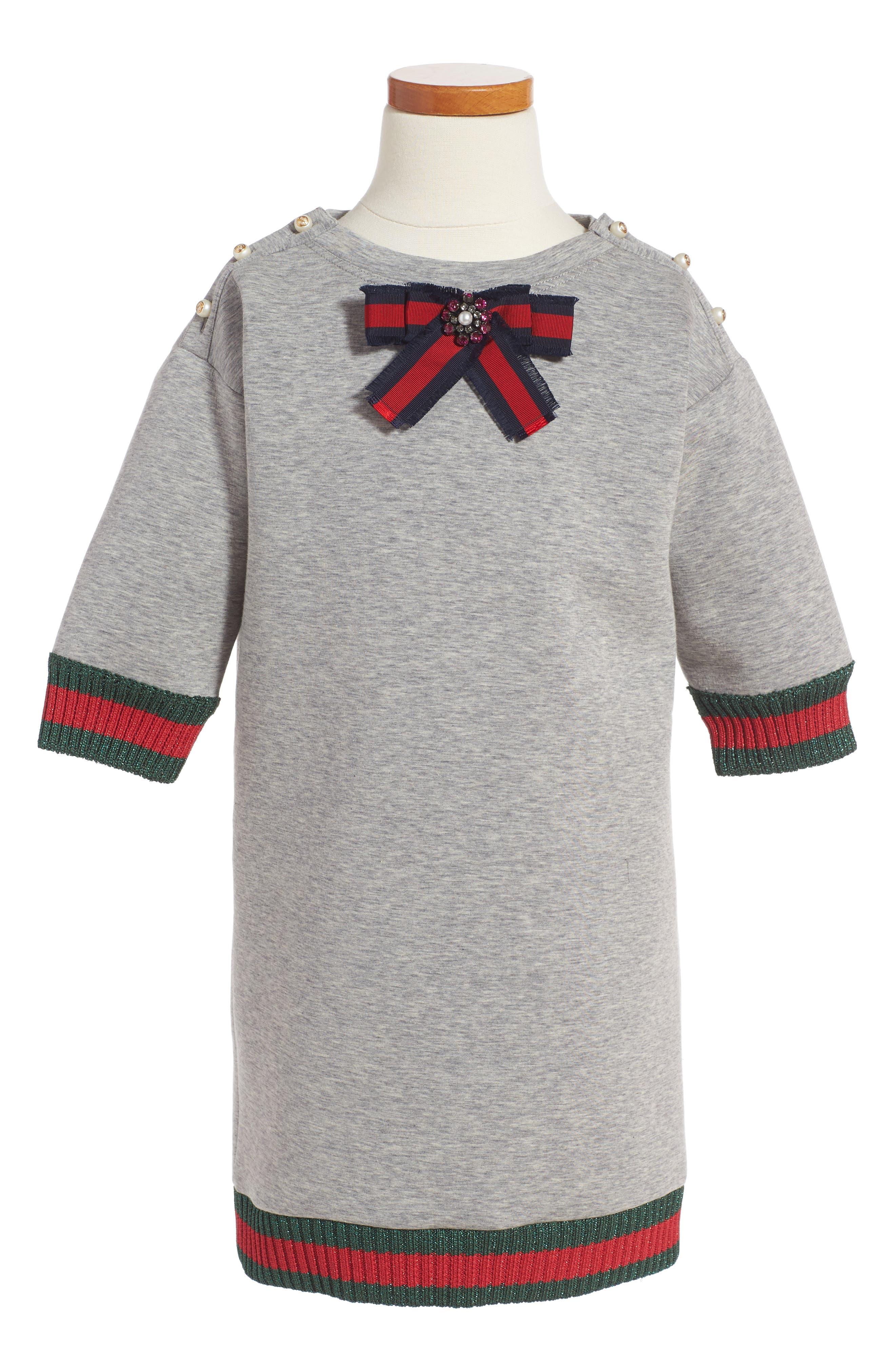 Main Image - Gucci Bow Sweater (Little Girls & Big Girls)
