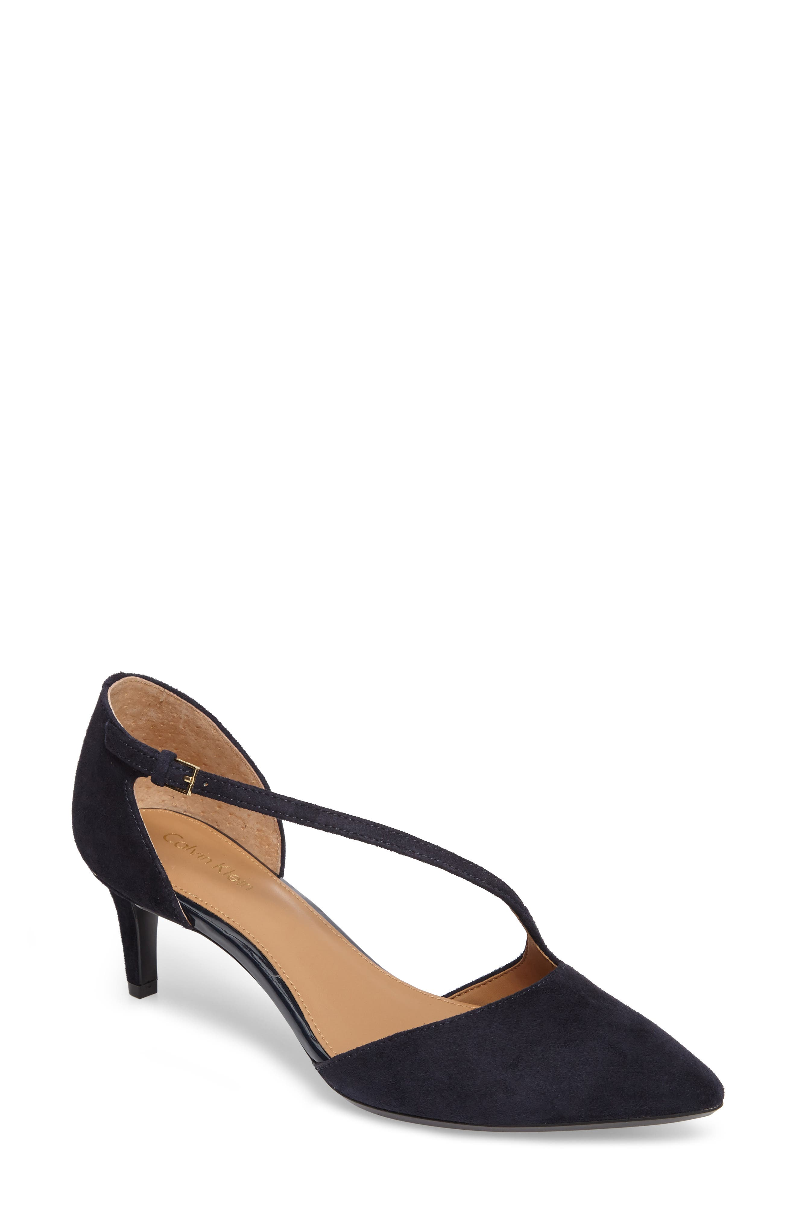 Main Image - Calvin Klein Page Pointy Toe Pump (Women)