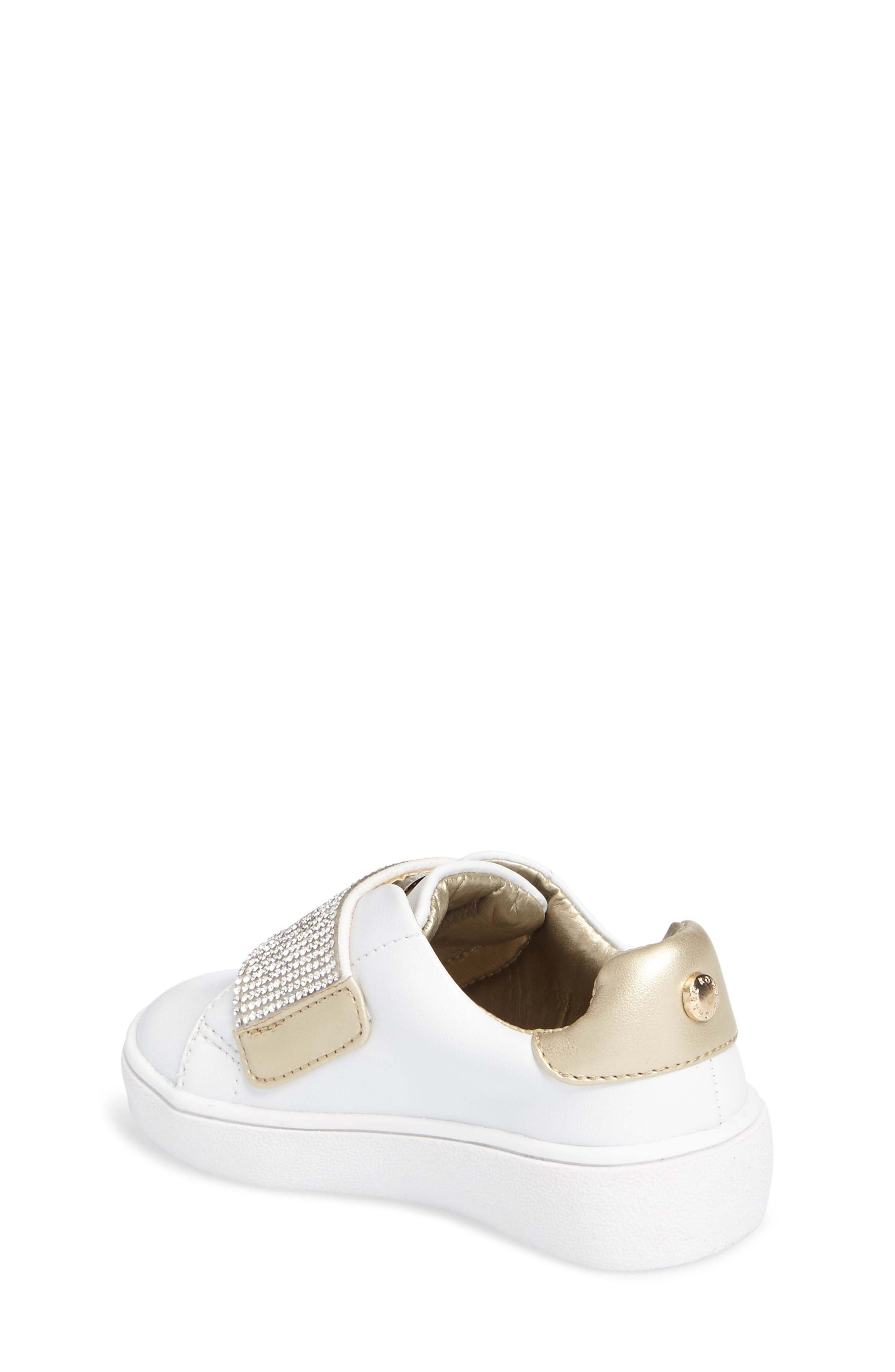 Alternate Image 2  - MICHAEL Michael Kors Ivy Candy Sneaker (Walker, Toddler, Little Kid & Big Kid)