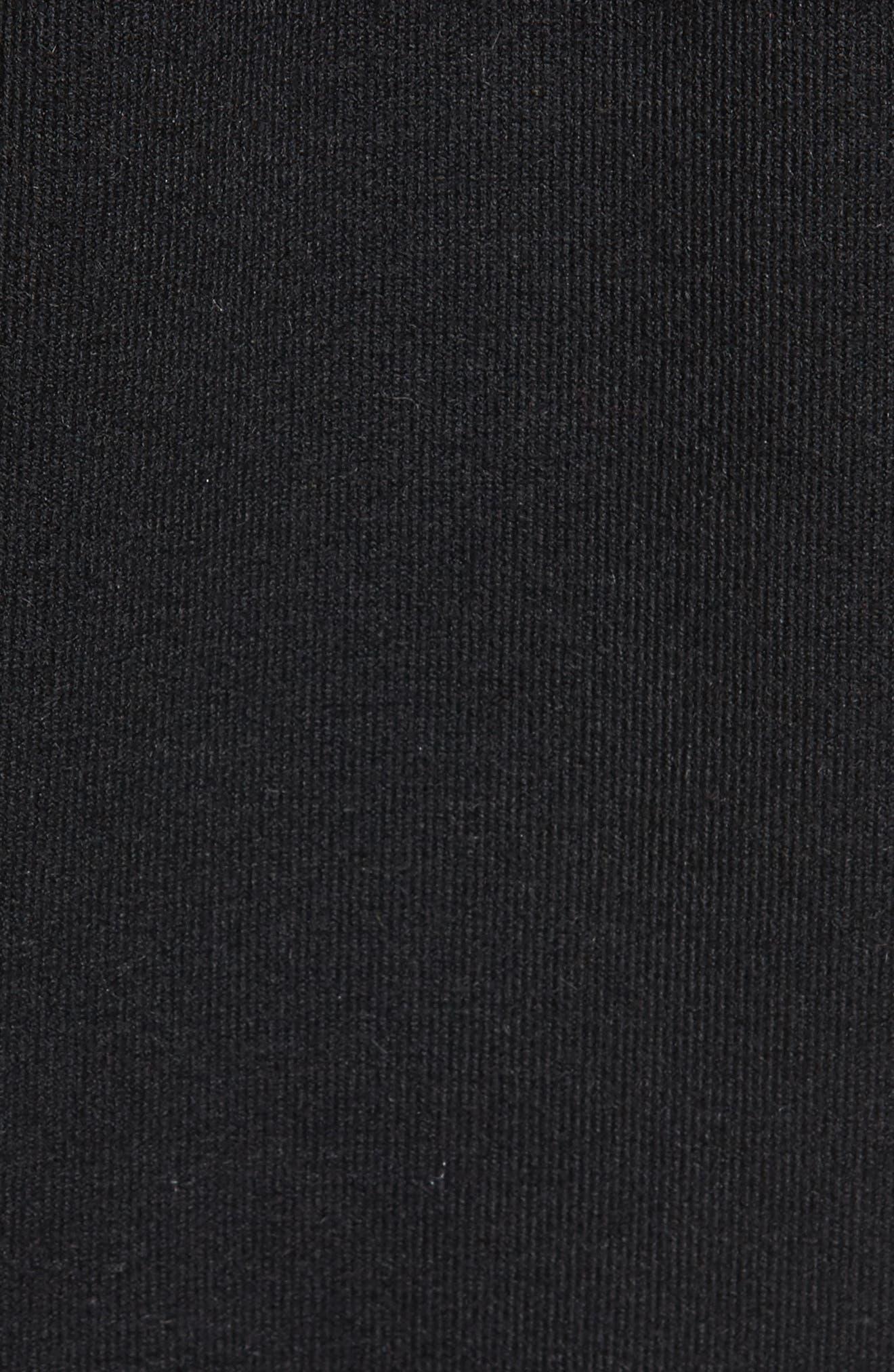 Alternate Image 5  - J.O.A. Lace-Up Sweatshirt