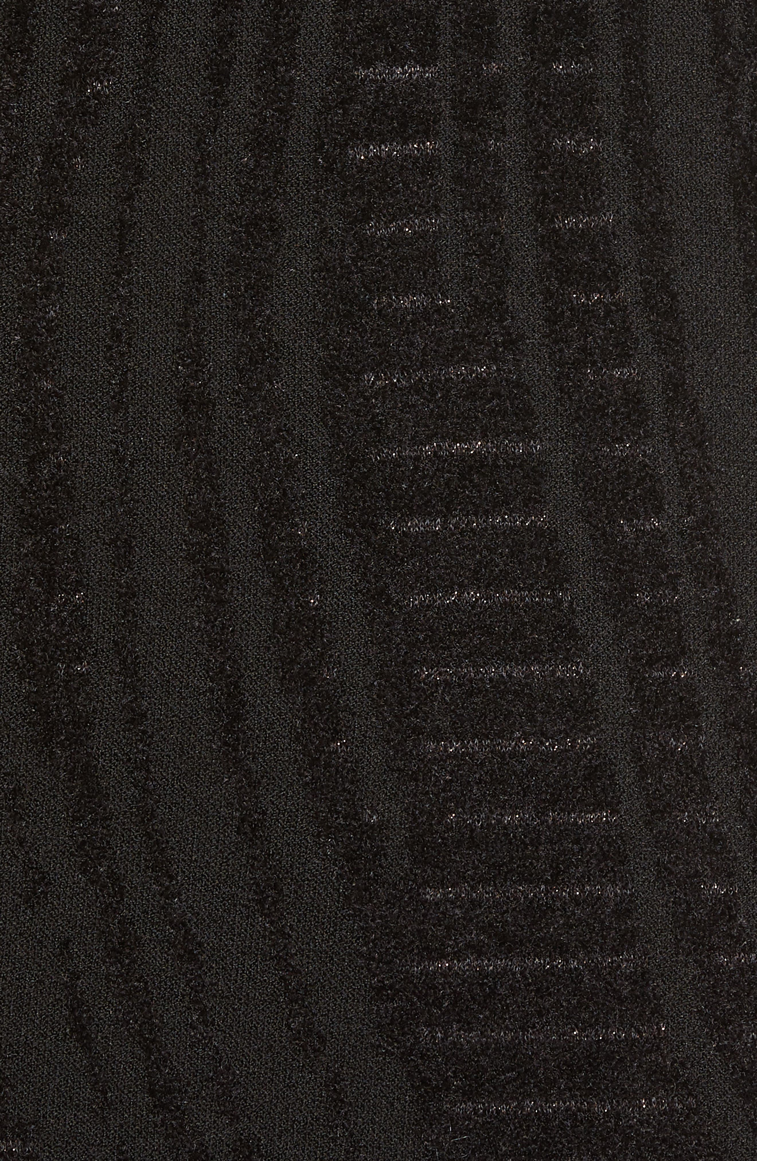 Winter Reign Dress,                             Alternate thumbnail 5, color,                             Black Multi