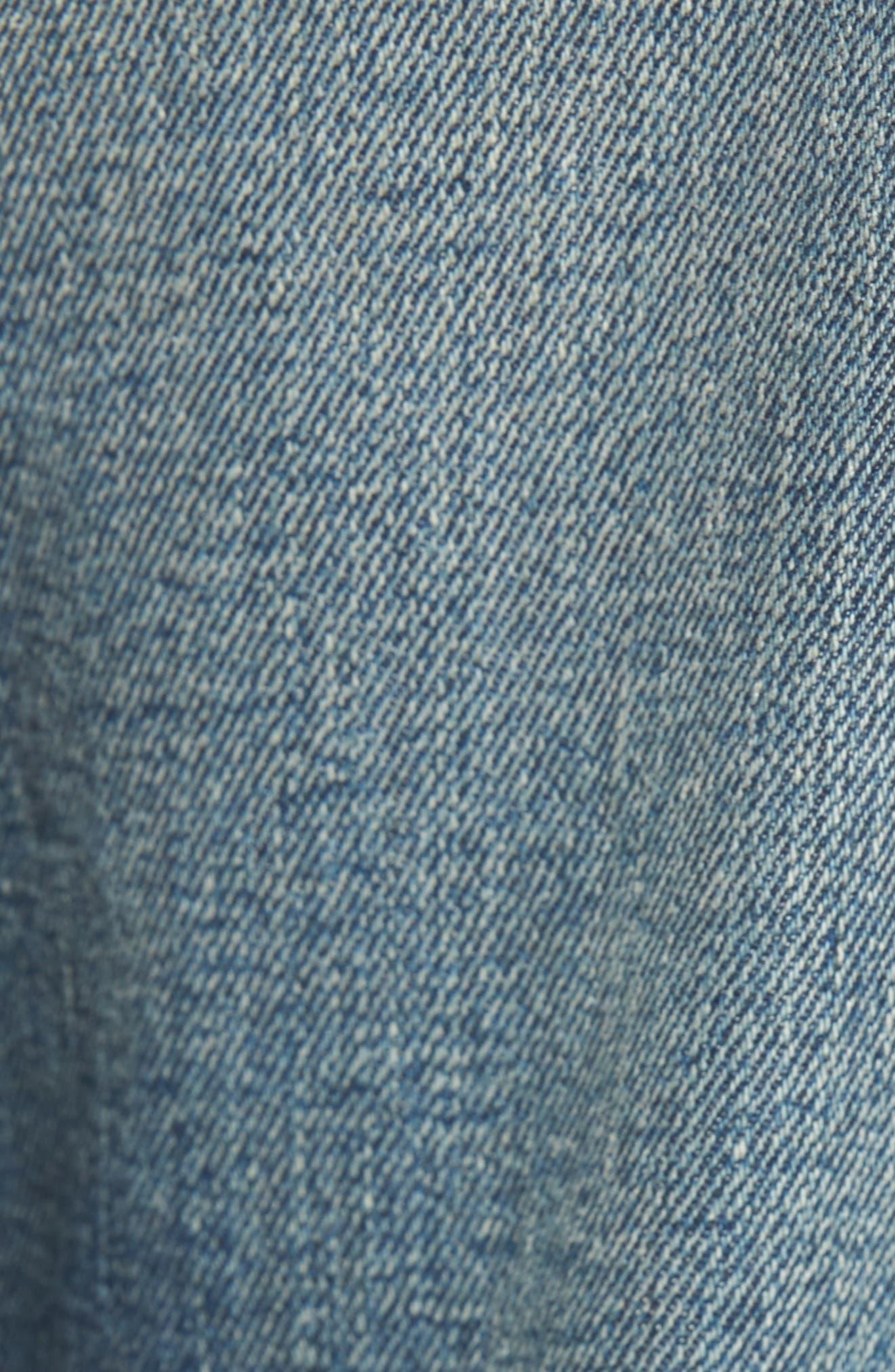 Cameron Slim Boyfriend Jeans,                             Alternate thumbnail 7, color,                             Indigo Legacy