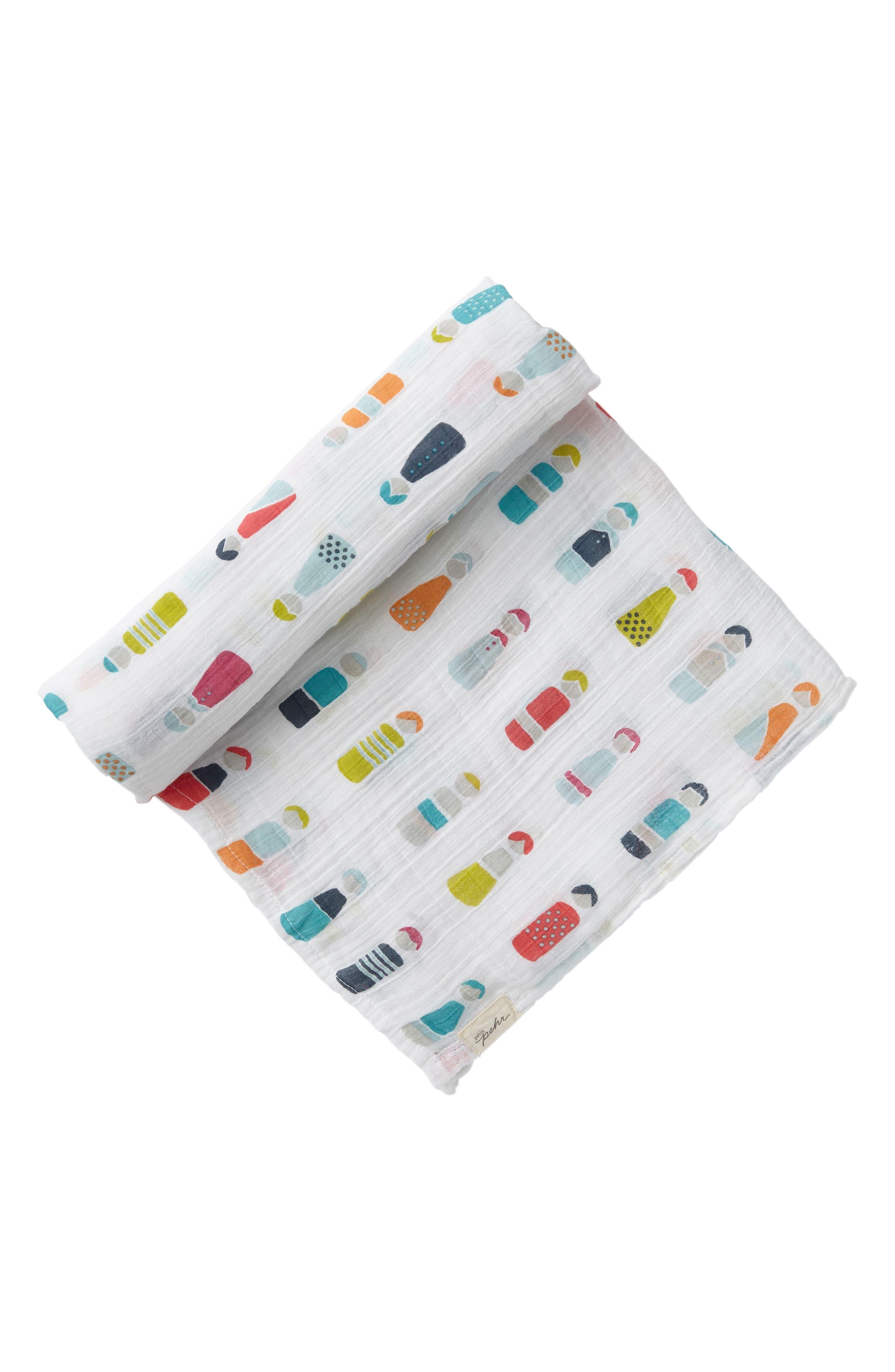 Main Image - Petit Pehr Little Peeps Swaddle Blanket